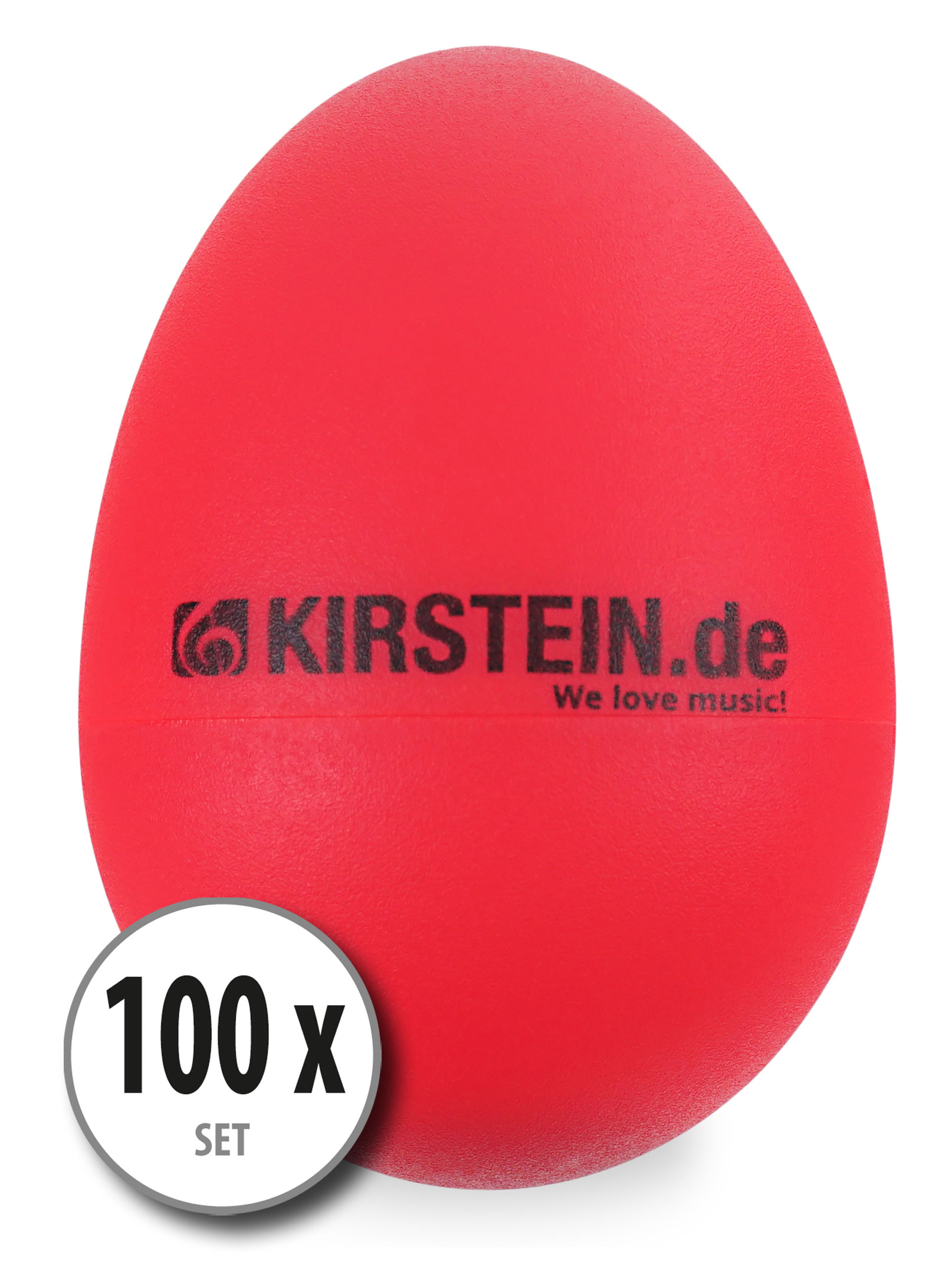 100x Kirstein ES 10R Egg Shaker rot Light Set