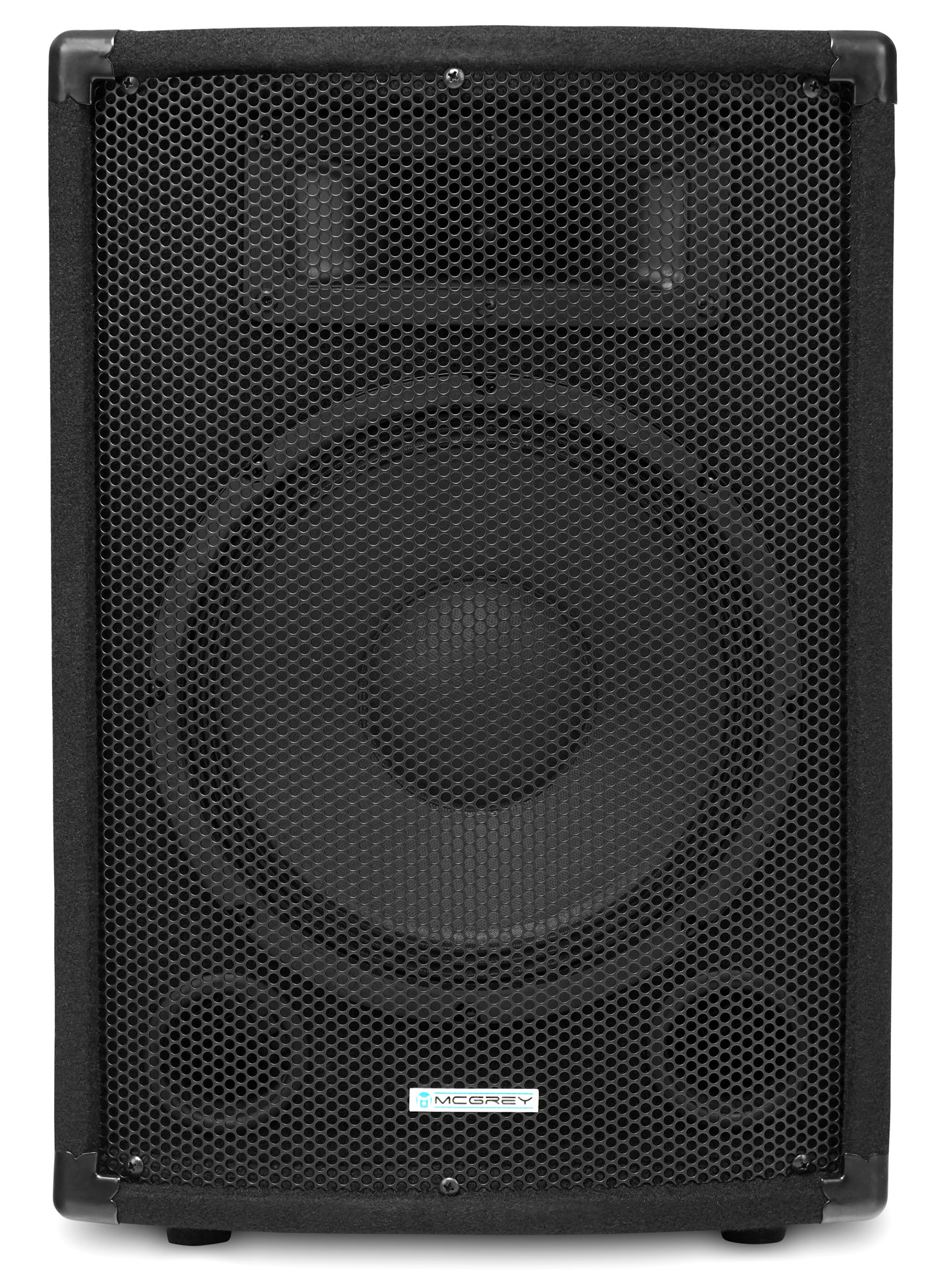 mcgrey pa set dj 01 2x tp 10 box 1x p152 e power amplifier 2x boxj1 5 cable 200w rms. Black Bedroom Furniture Sets. Home Design Ideas