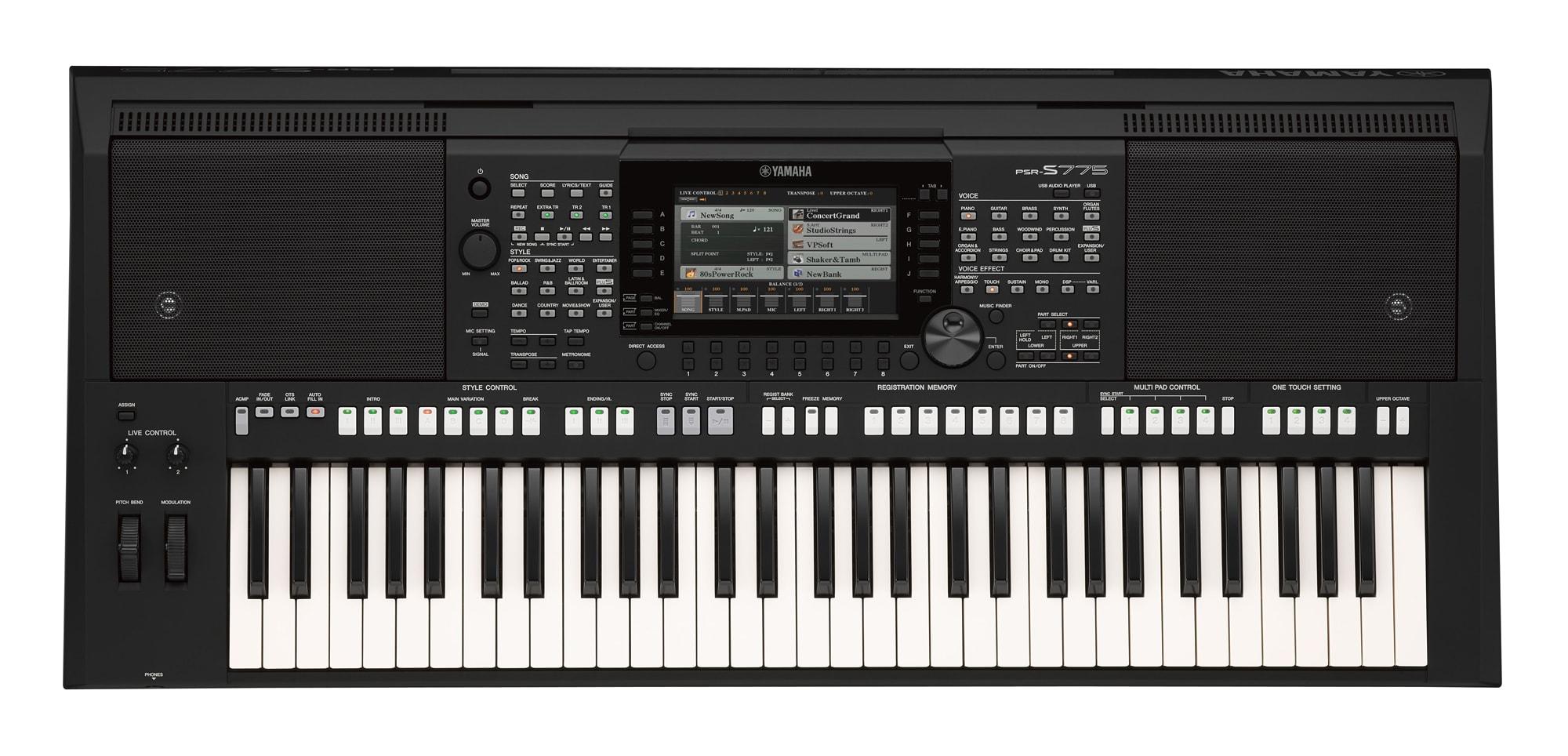 yamaha psr s775 keyboard set deluxe. Black Bedroom Furniture Sets. Home Design Ideas