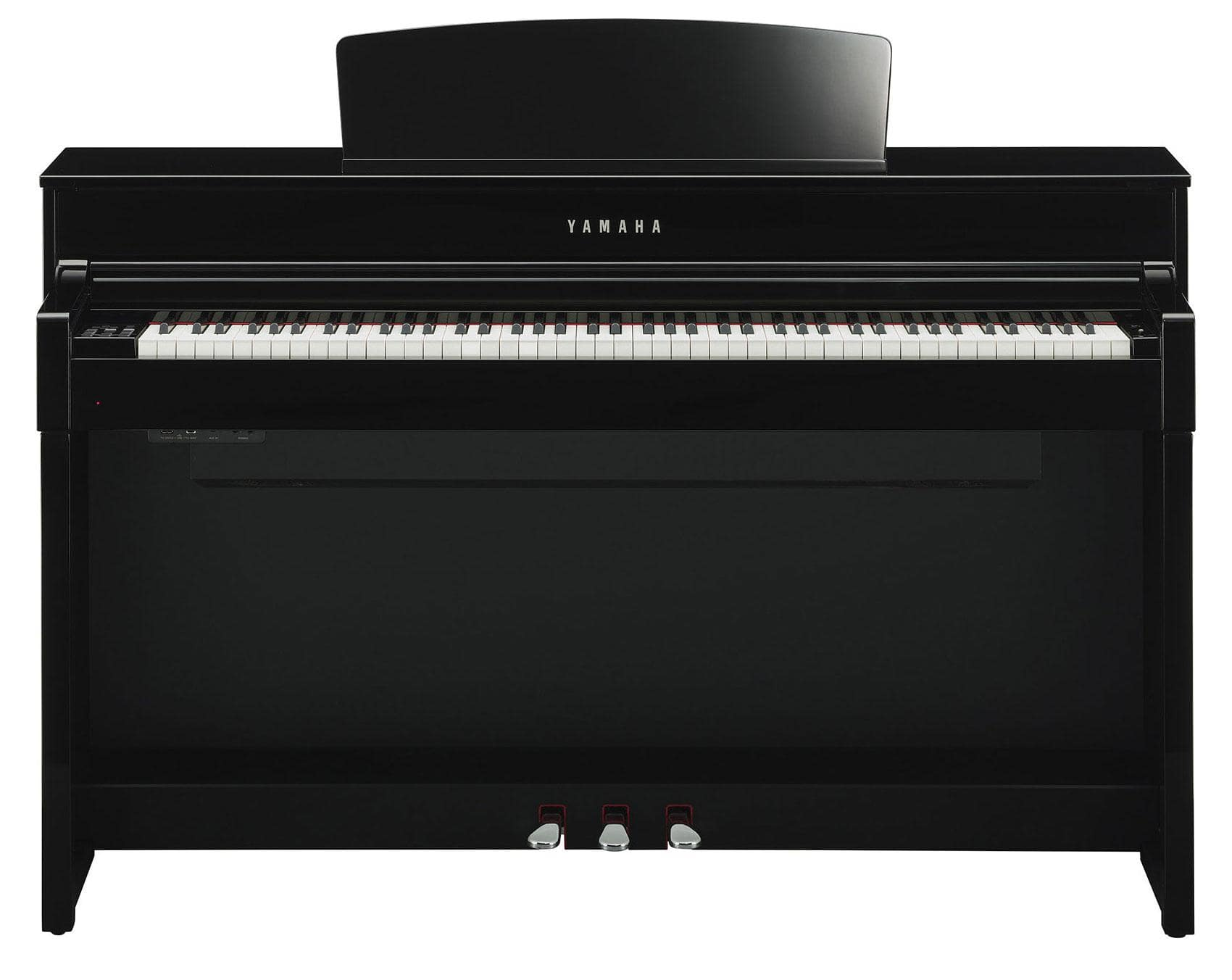 yamaha clp 575 pe digitalpiano schwarz hochglanz. Black Bedroom Furniture Sets. Home Design Ideas