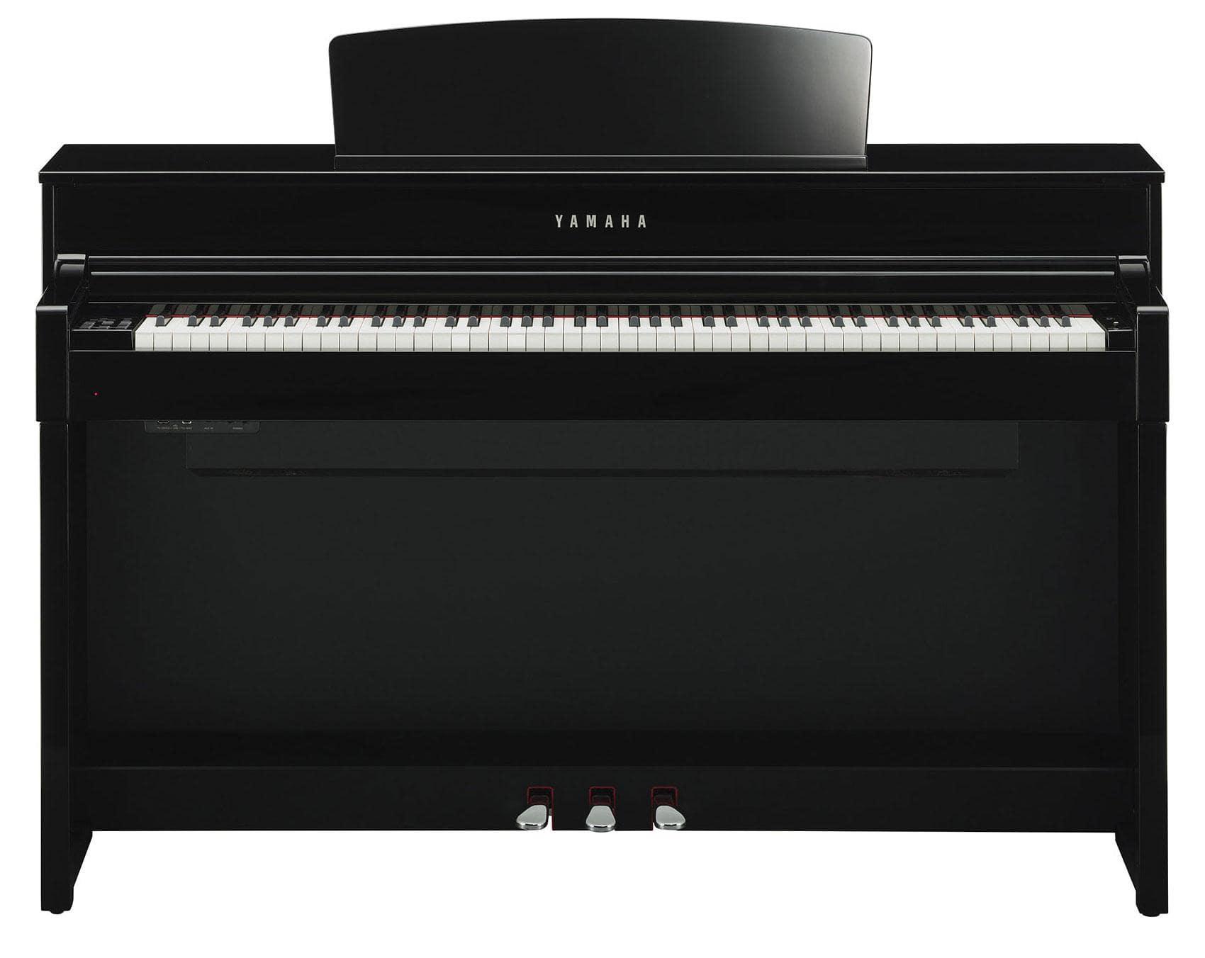 yamaha clp 575 pe digitalpiano schwarz hochglanz. Black Bedroom Furniture Sets. Home Design Ideas
