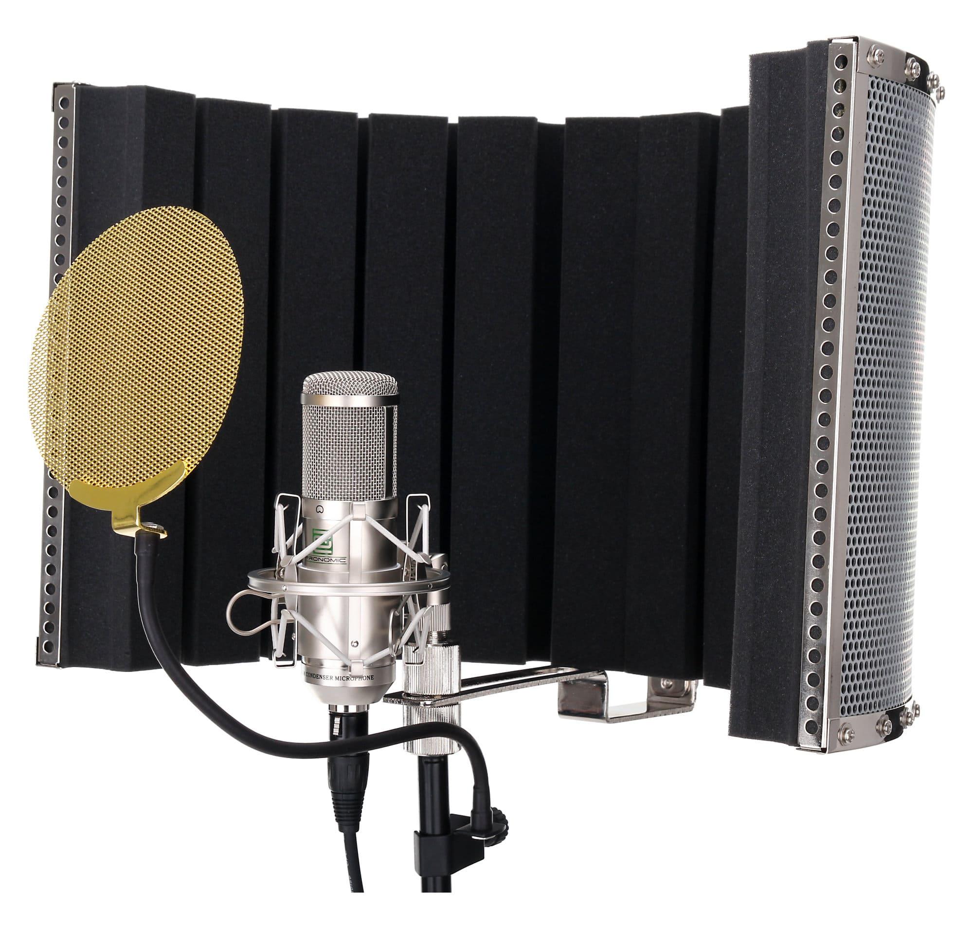 Pronomic Cm 100s Large Membrane Microphone Complete Set