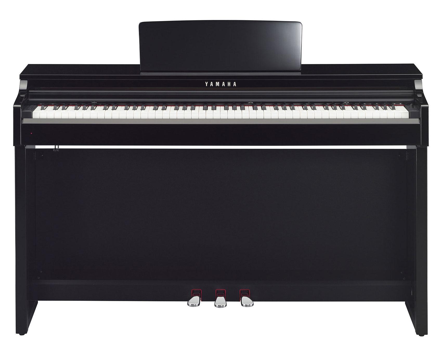 yamaha clp 525 pe digitalpiano schwarz hochglanz. Black Bedroom Furniture Sets. Home Design Ideas