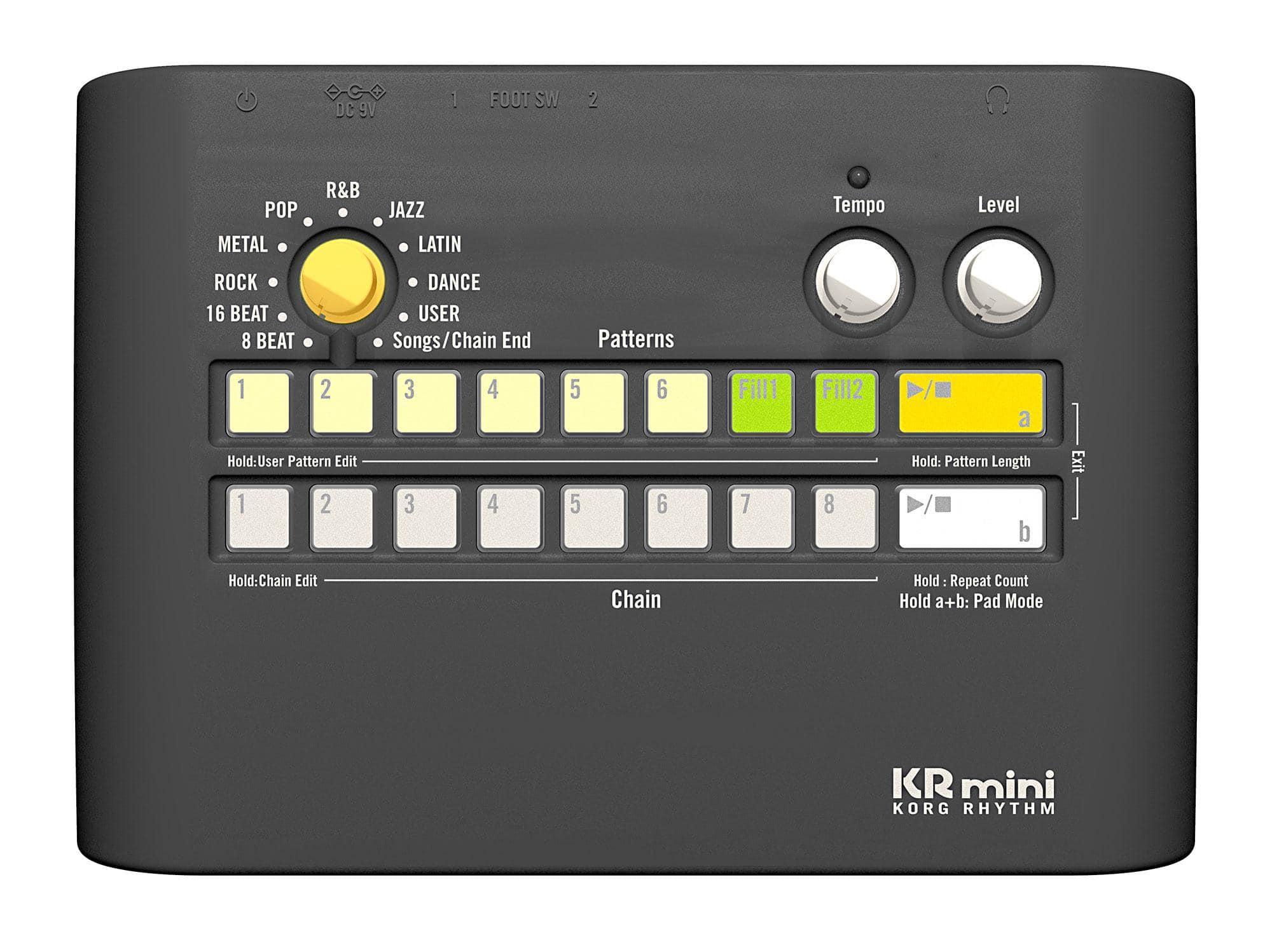 Korg Rhythm Kr Mini Rhythmusmaschine