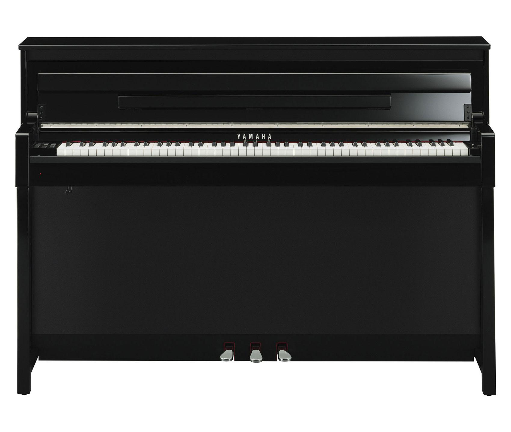 yamaha clp 585 pe digitalpiano schwarz hochglanz set. Black Bedroom Furniture Sets. Home Design Ideas