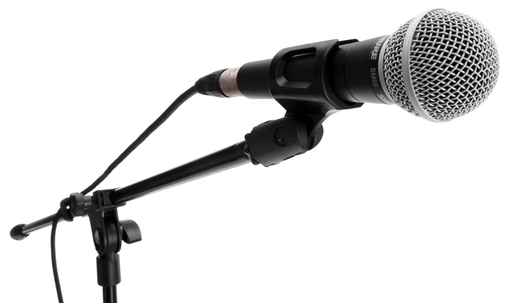 Mcgrey Mbs 01 Microphone Stand With Boom And Microphone Clip