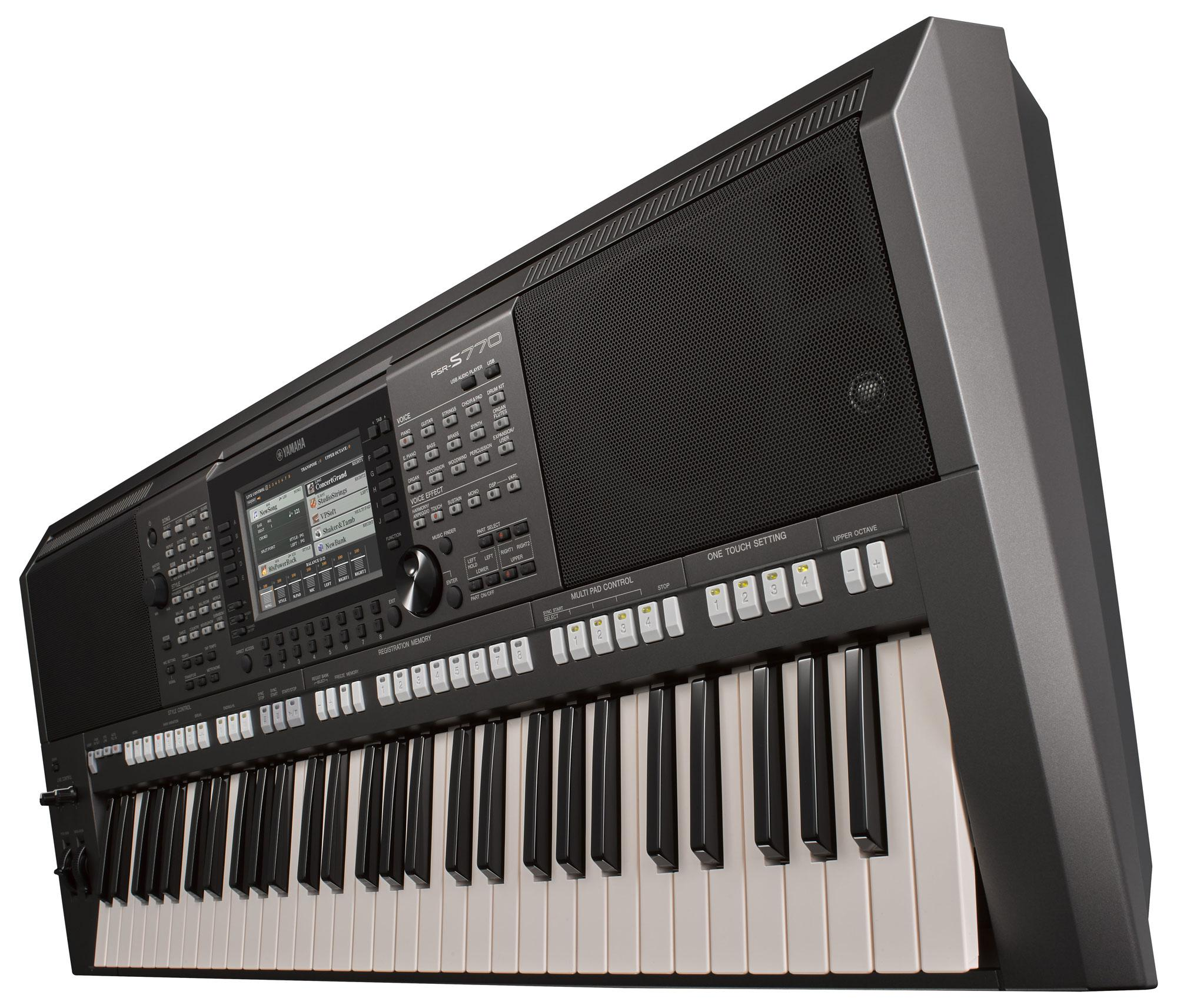 yamaha psr s770 keyboard. Black Bedroom Furniture Sets. Home Design Ideas