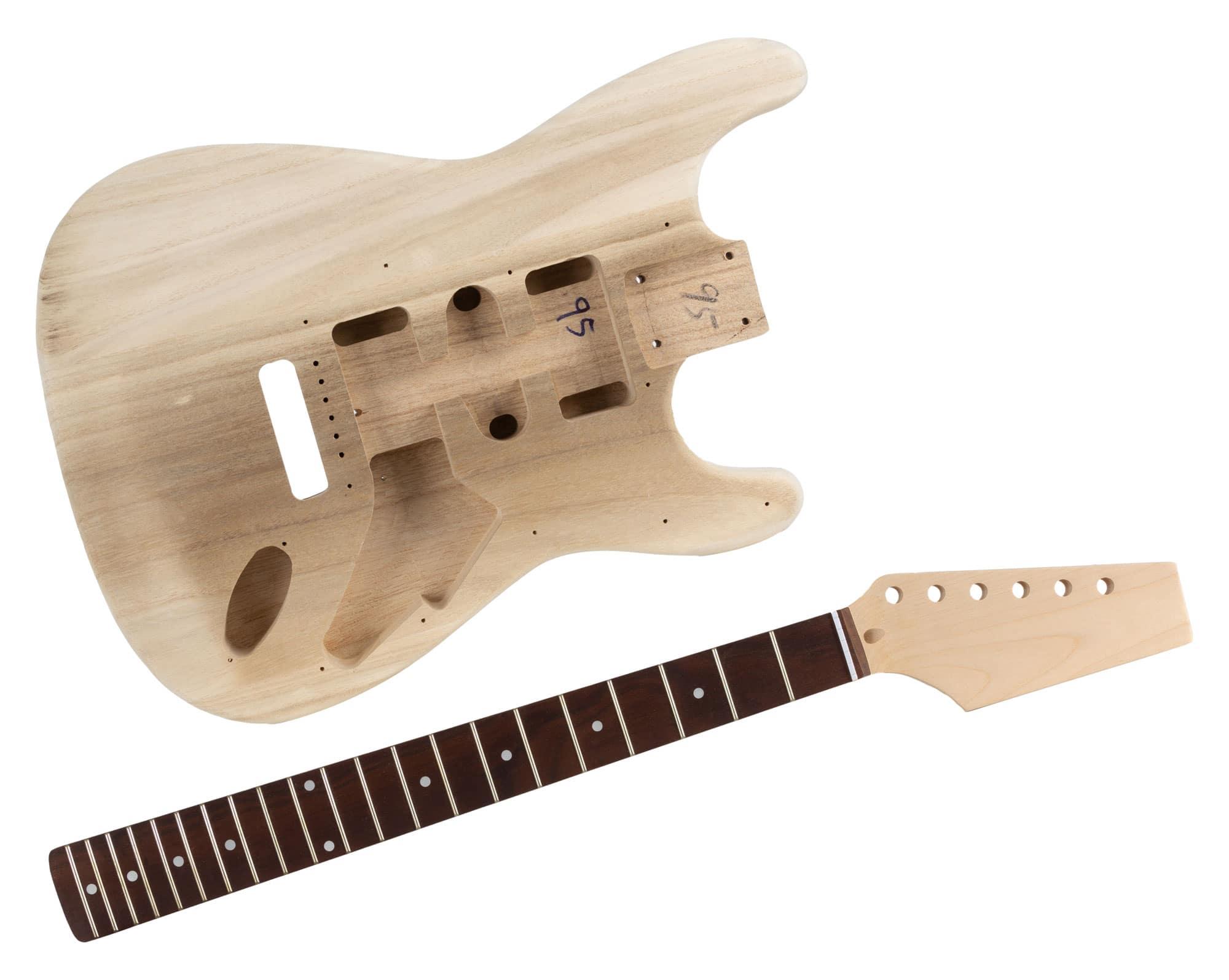 rocktile electric guitar kit st style. Black Bedroom Furniture Sets. Home Design Ideas