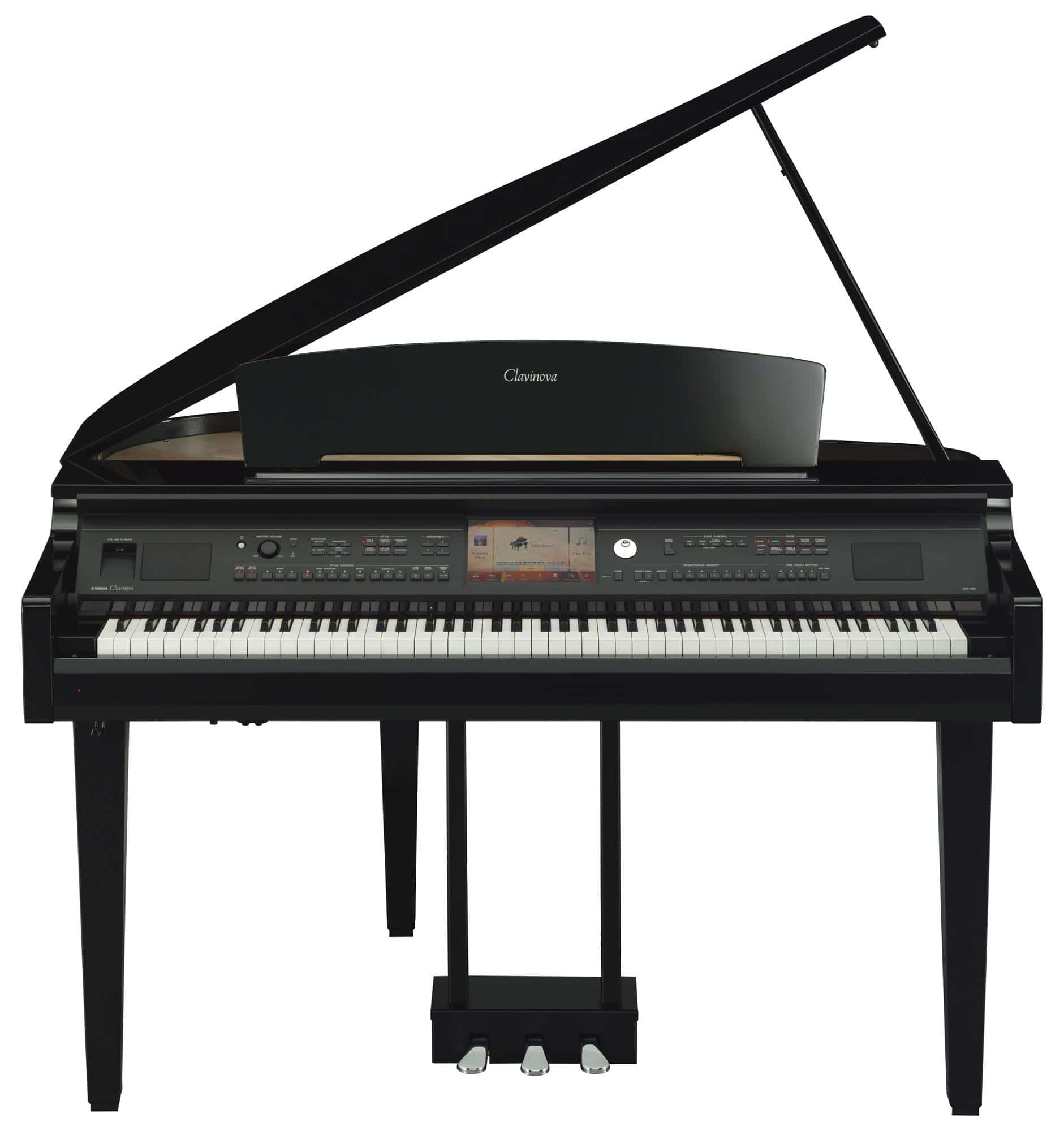 yamaha cvp 709 gp clavinova digitalfl gel schwarz hochglanz. Black Bedroom Furniture Sets. Home Design Ideas