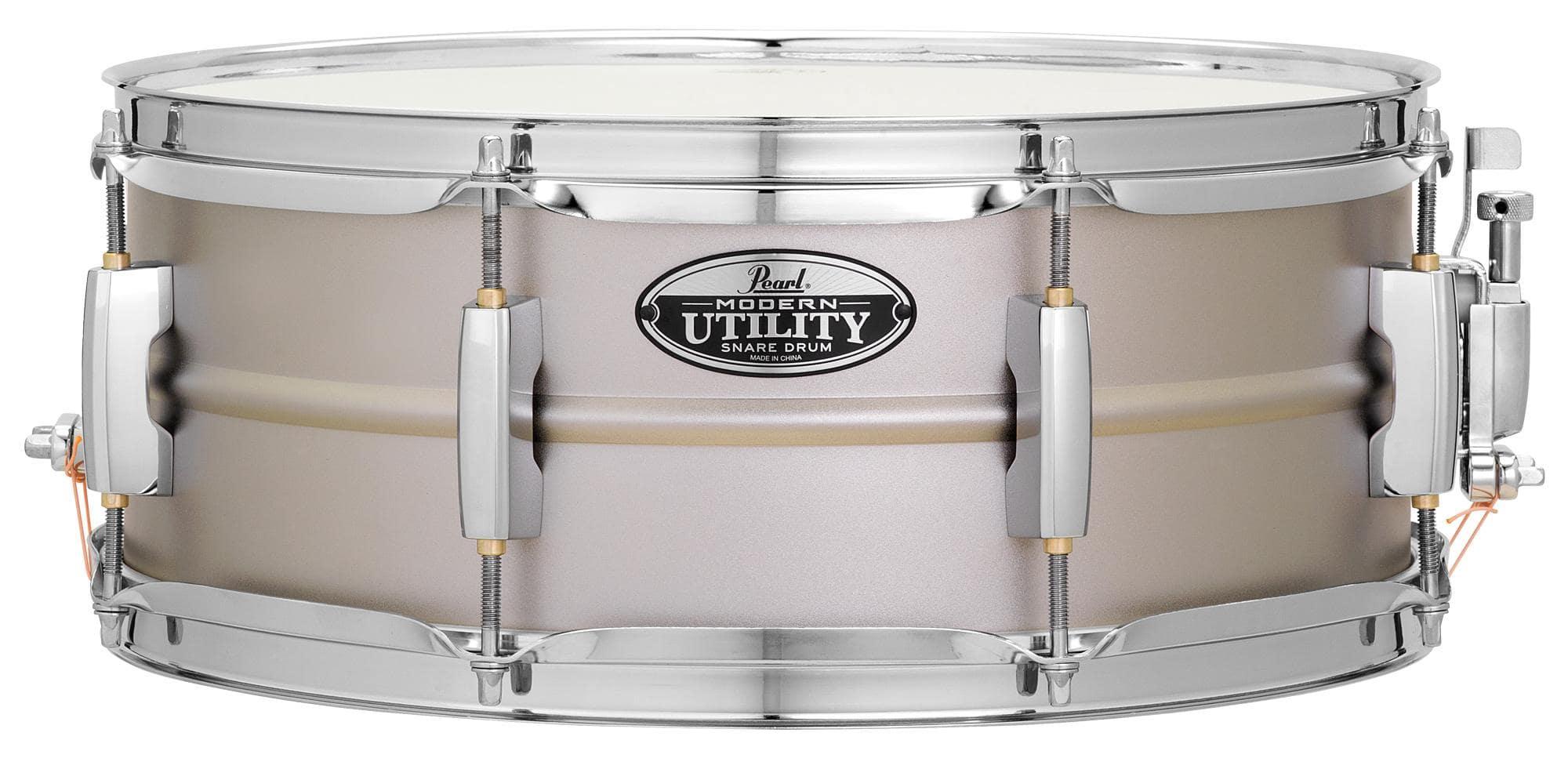 pearl mus1455s modern utility snare drum 14 x 5 stahl set inkl gigbag. Black Bedroom Furniture Sets. Home Design Ideas