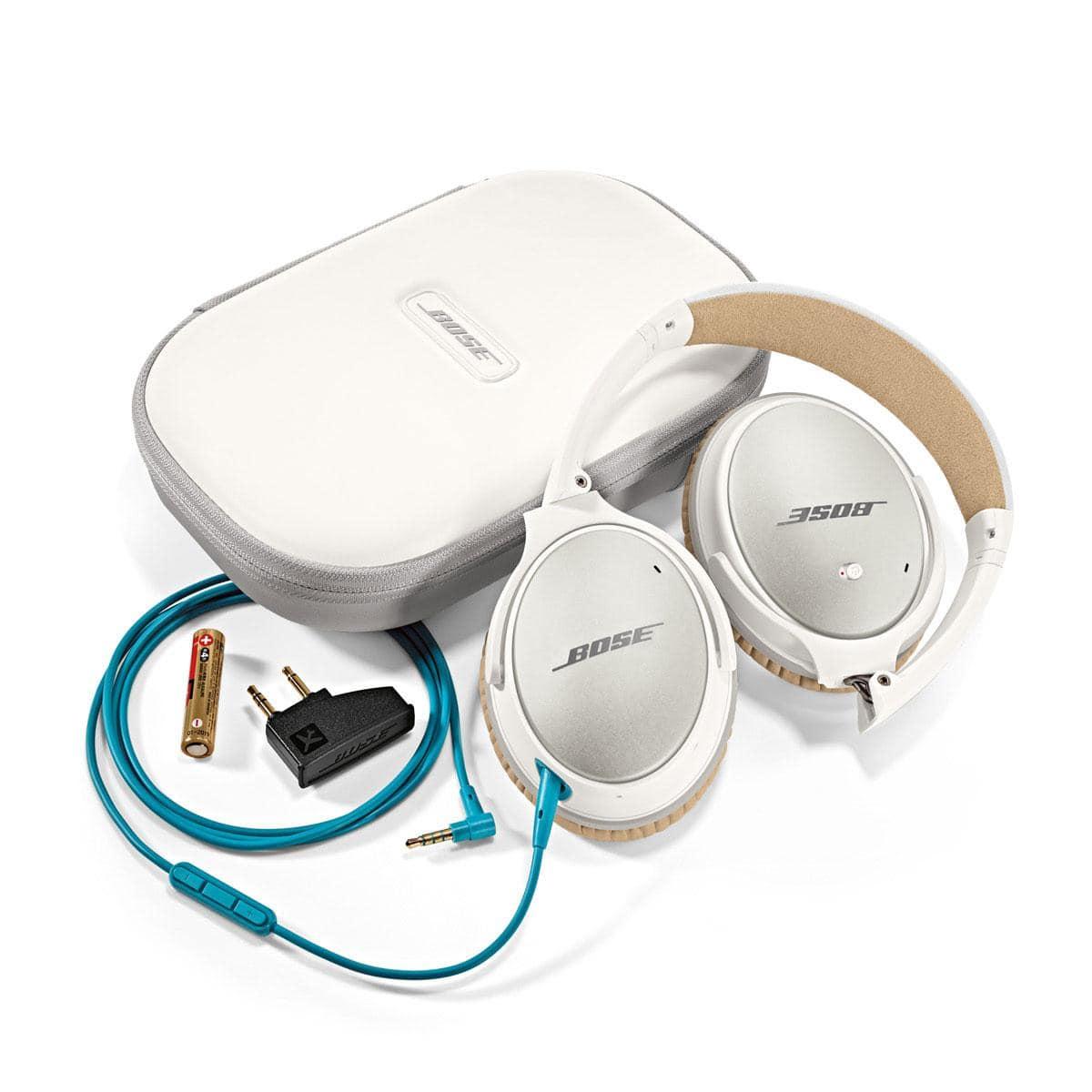 Bose QuietComfort® 25 Kopfhörer weiß Acoustic Noise Cancelling ...
