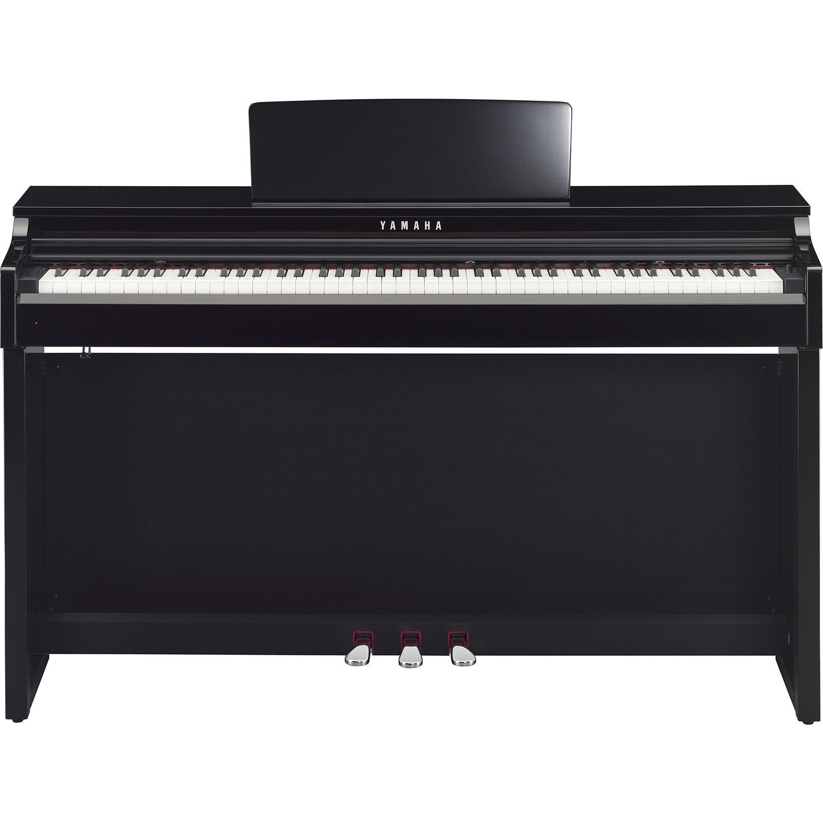 Yamaha clp 625 pe digitalpiano schwarz hochglanz for Yamaha clp 625
