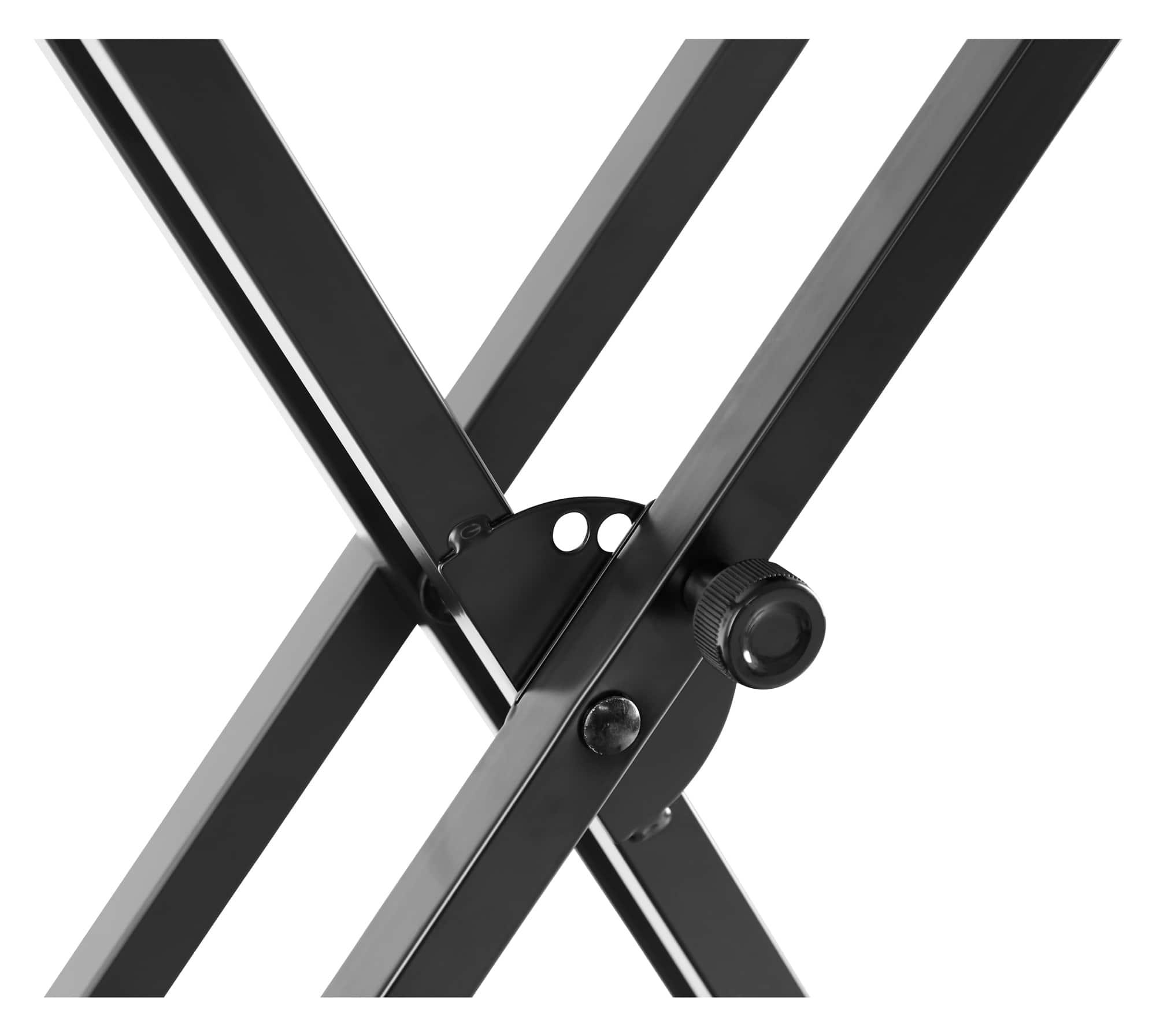mcgrey ks 200 x keyboardst nder doppelstrebig schwarz belastbar bis 30 kg stabil ebay. Black Bedroom Furniture Sets. Home Design Ideas