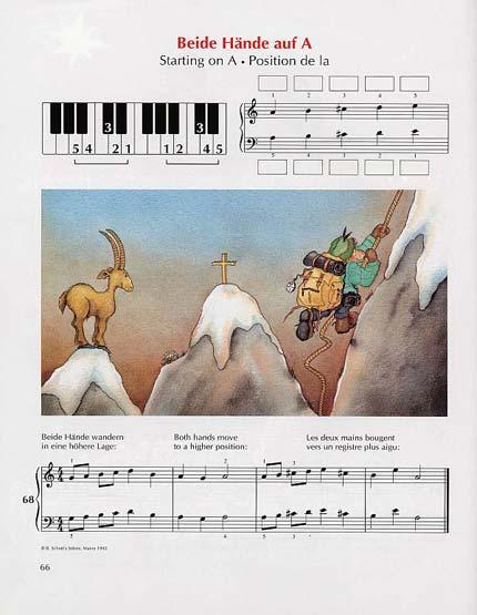 Fritz Emonts Europäische Klavierschule Band I