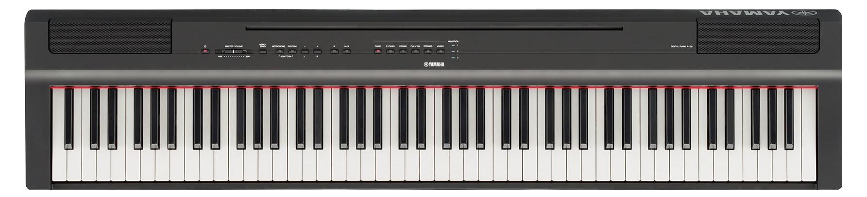 yamaha p 125b stage piano set schwarz. Black Bedroom Furniture Sets. Home Design Ideas