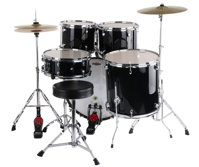 Xdrum Classic Drum Set Complete Set Black