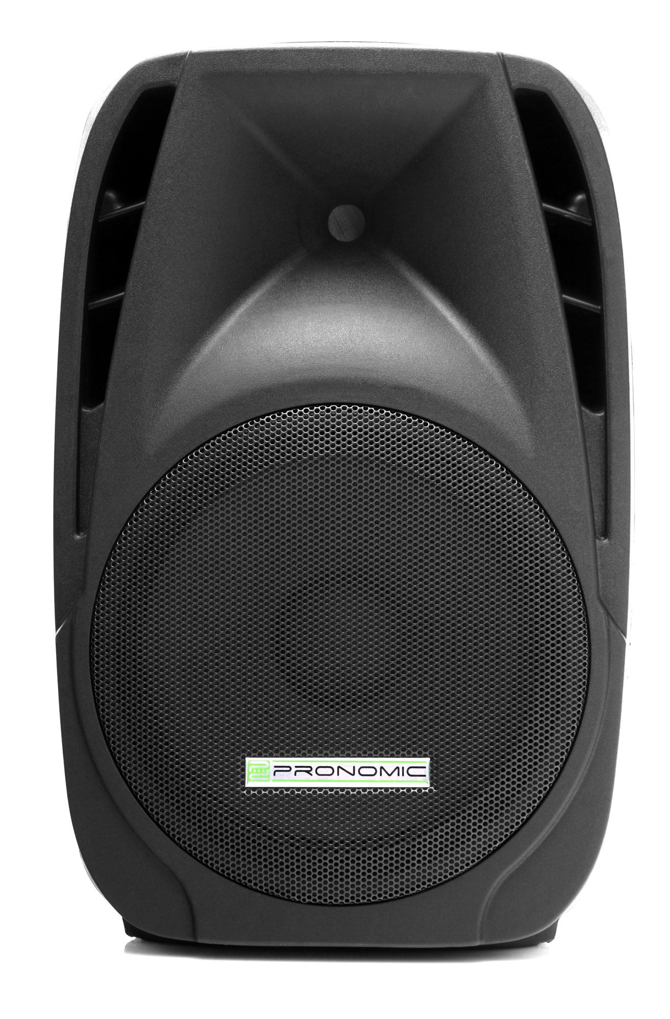 pronomic ph12a aktivbox lautsprecher mp3 bluetooth 150 300. Black Bedroom Furniture Sets. Home Design Ideas