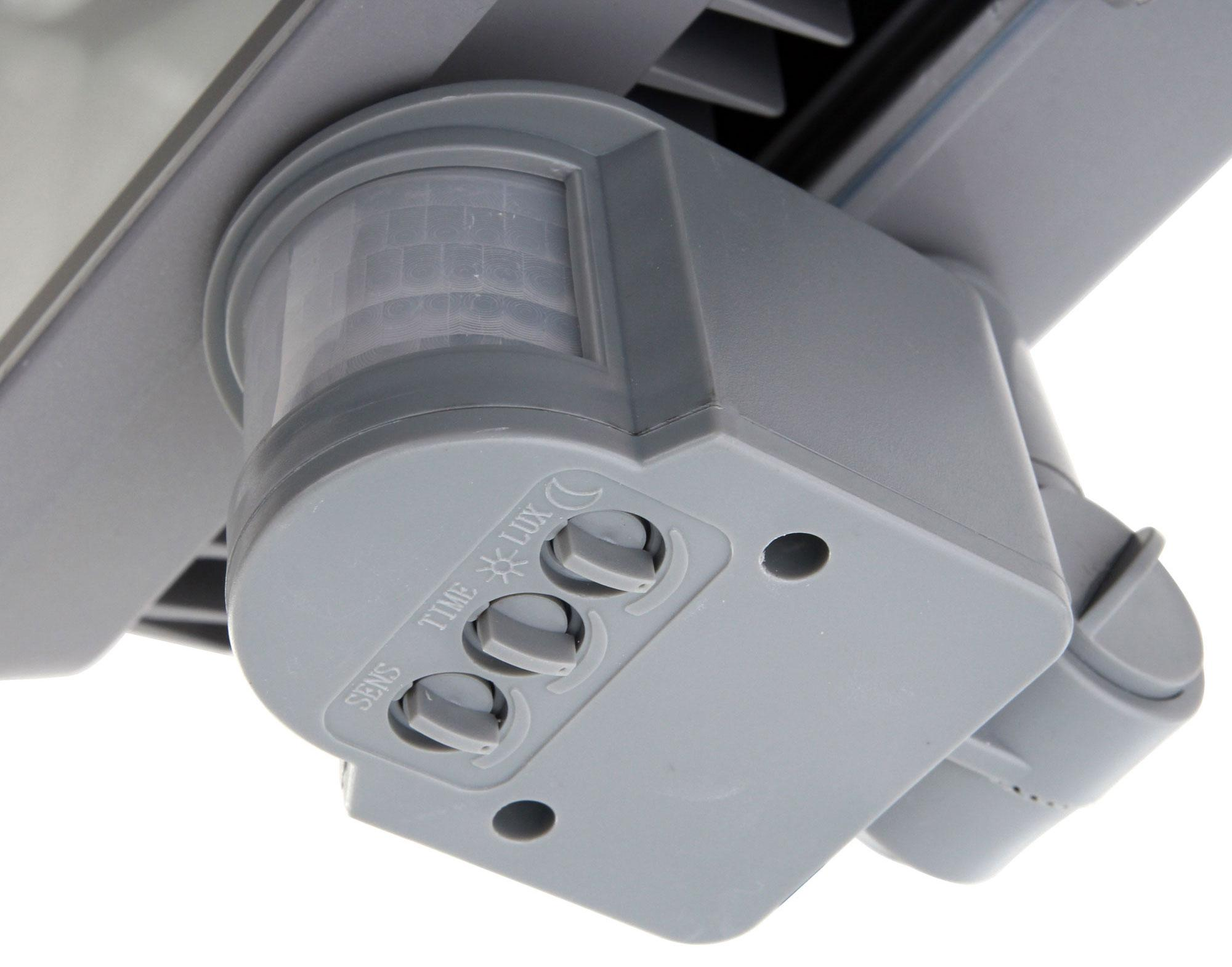 showlite fl 2020b led fluter ip65 20 watt 2200 lumen bewegungsmelder 5er set. Black Bedroom Furniture Sets. Home Design Ideas