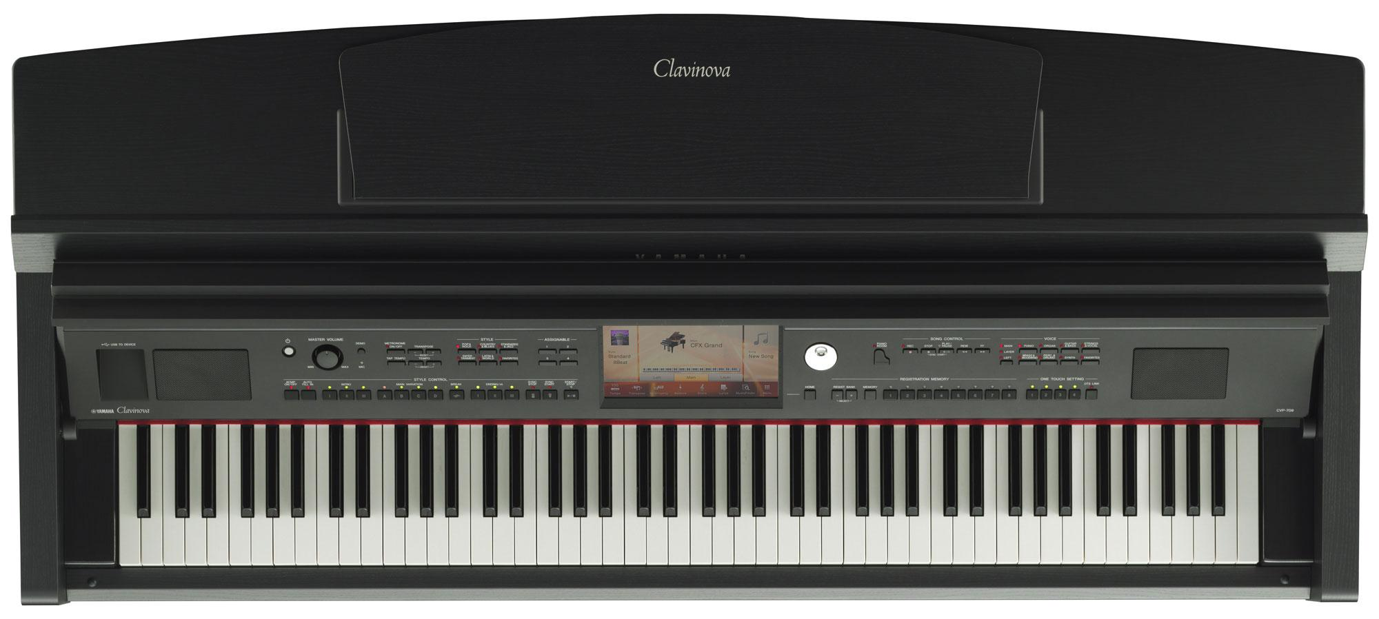 yamaha cvp 709 pe clavinova digitalpiano schwarz hochglanz. Black Bedroom Furniture Sets. Home Design Ideas