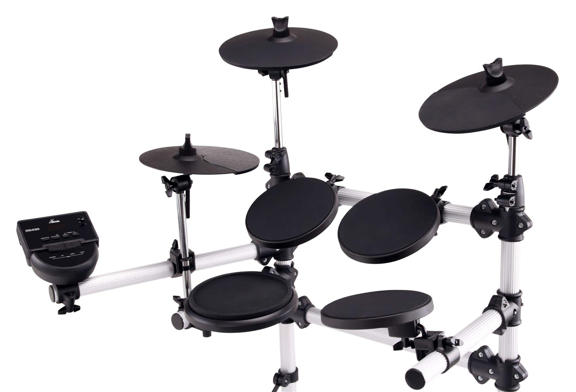 xdrum dd 430 e drum set retoure zustand sehr gut. Black Bedroom Furniture Sets. Home Design Ideas