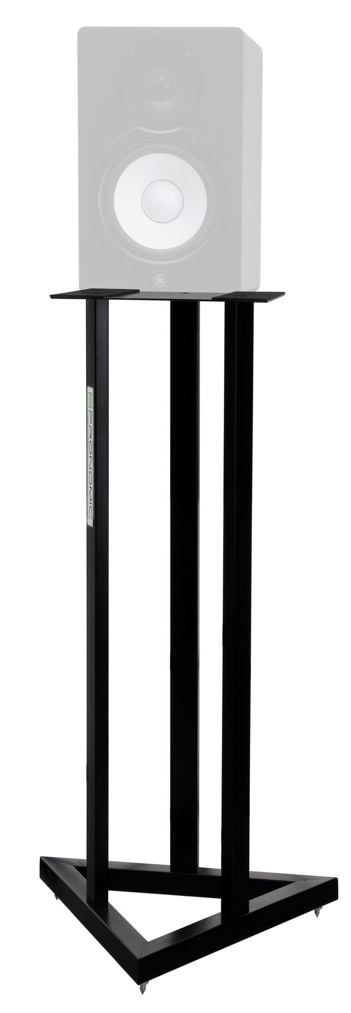 Pronomic scs 20 speaker stand for studio monitor pair of for Montage des stands