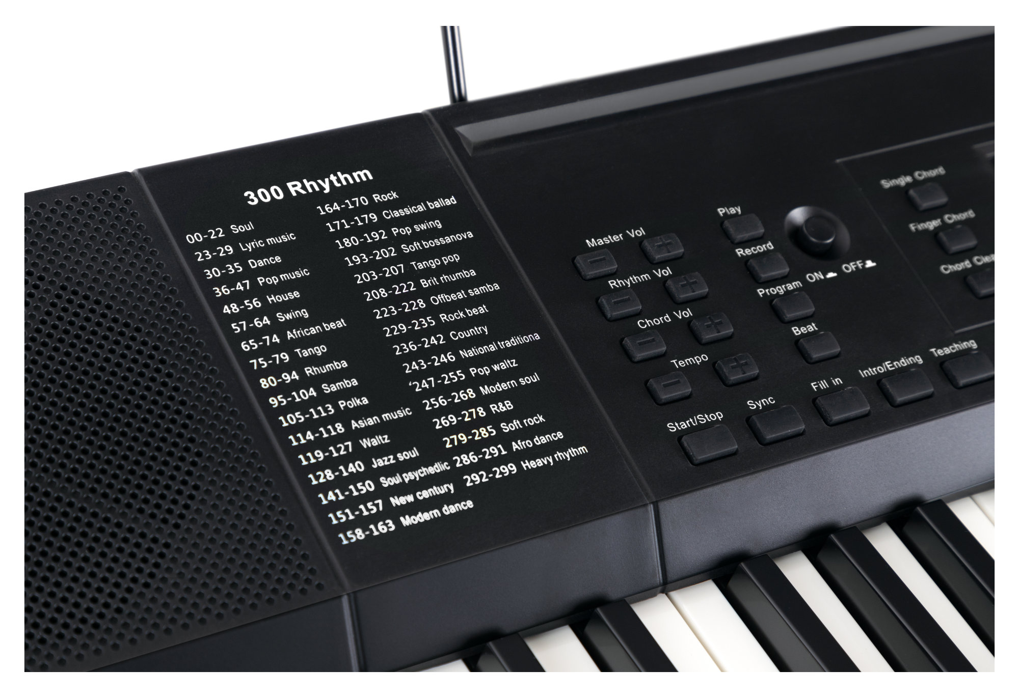 funkey 61 edition black set incl keyboard stand and bench