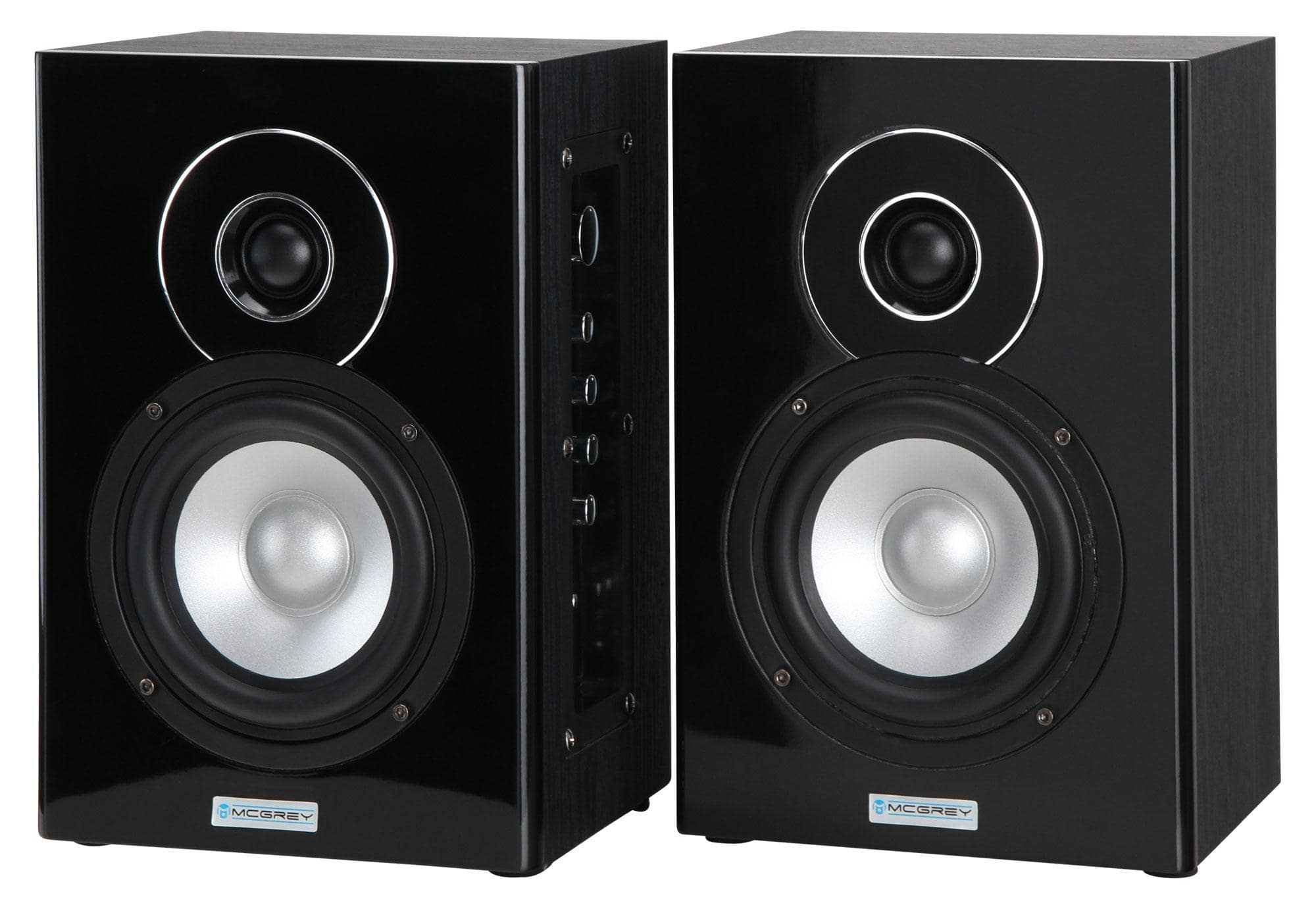 mcgrey bts 235a aktiv studio monitor lautsprecher paar mit bluetooth 80 watt retoure zustand. Black Bedroom Furniture Sets. Home Design Ideas