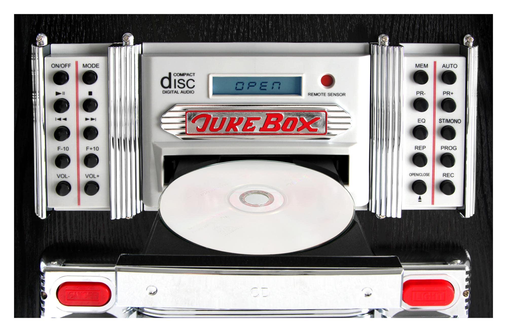 beatfoxx goldenage 40er 50er jahre jukebox mit lp cd usb. Black Bedroom Furniture Sets. Home Design Ideas