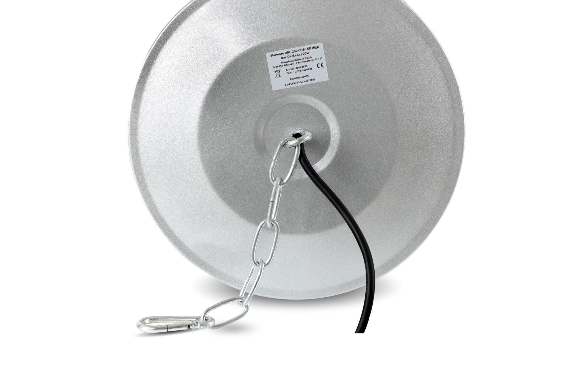 led hallenstrahler cob 50 100 150 210 watt industrie lampe alu high bay fluter ebay. Black Bedroom Furniture Sets. Home Design Ideas