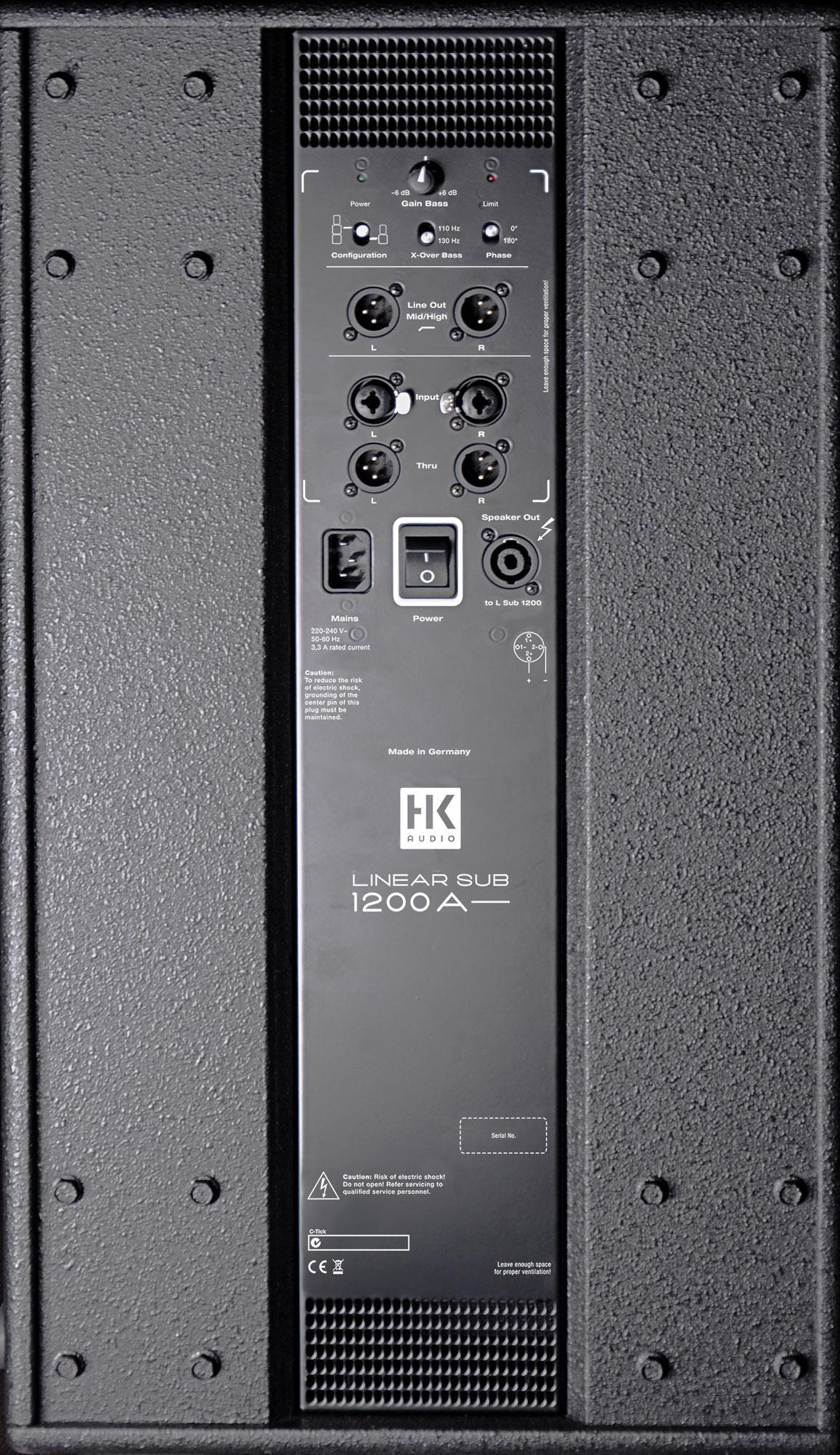 Hk Audio Linear 5 Sub 1200 A