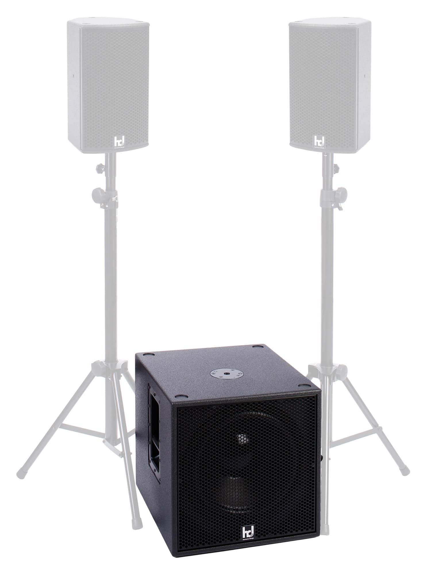 harmonic design p15 multi dsp aktiv subwoofer. Black Bedroom Furniture Sets. Home Design Ideas