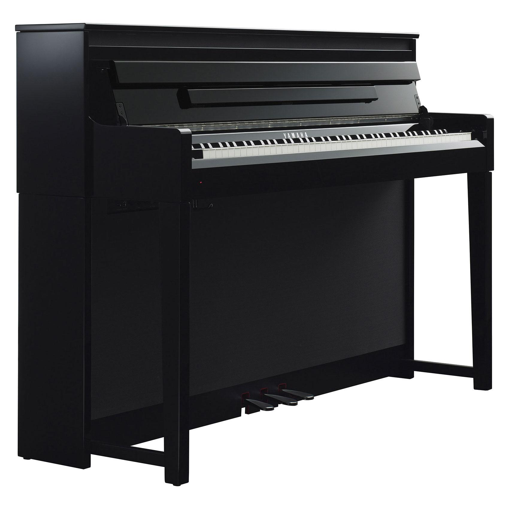 yamaha clp 585 pe digitalpiano sh set. Black Bedroom Furniture Sets. Home Design Ideas
