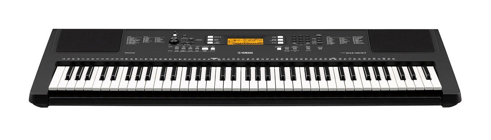 Yamaha psr ew300 keyboard 76 tasten set mit st nder und for Yamaha psr ew300 keyboard