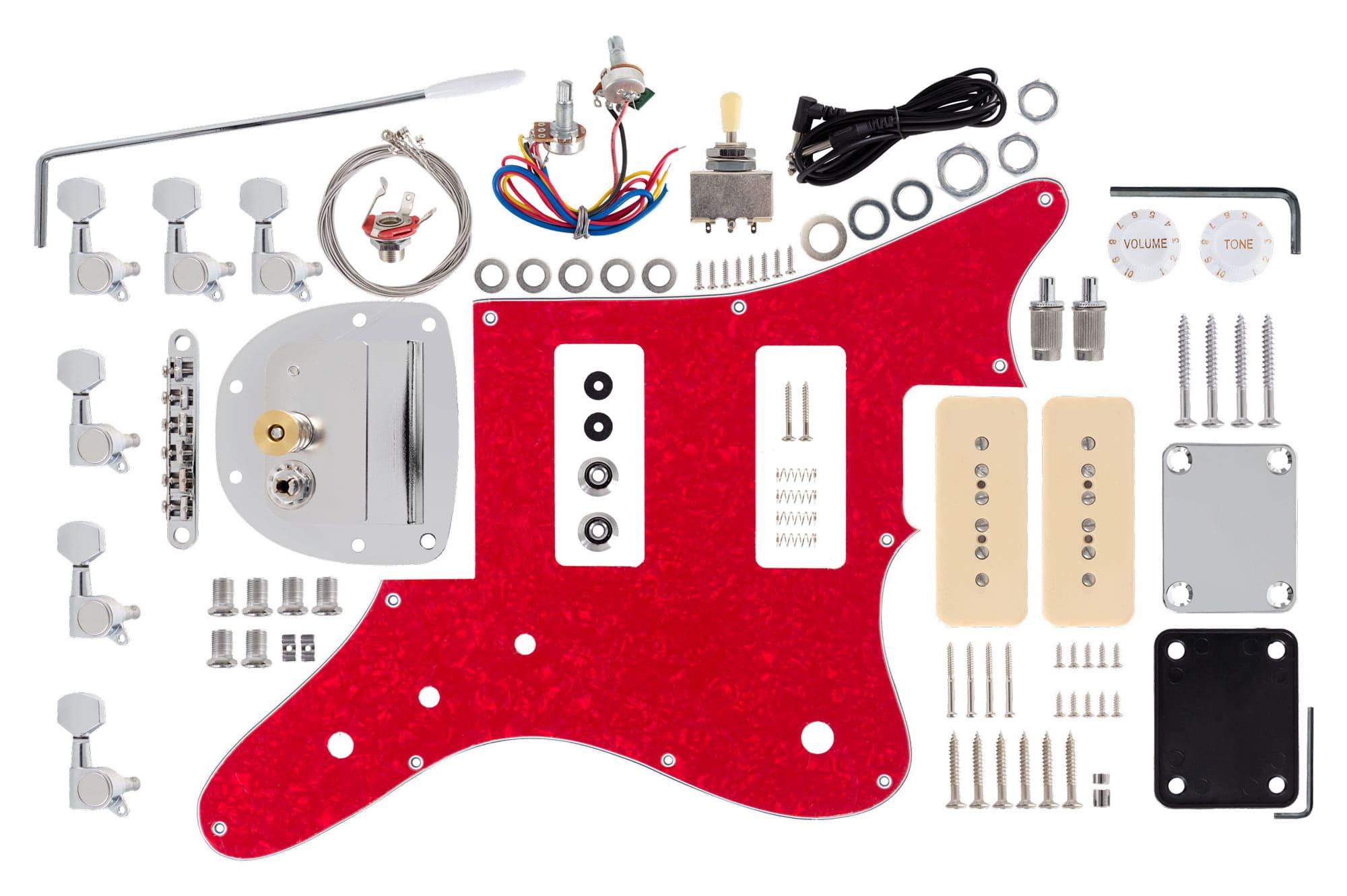rocktile e gitarren bausatz jag style. Black Bedroom Furniture Sets. Home Design Ideas