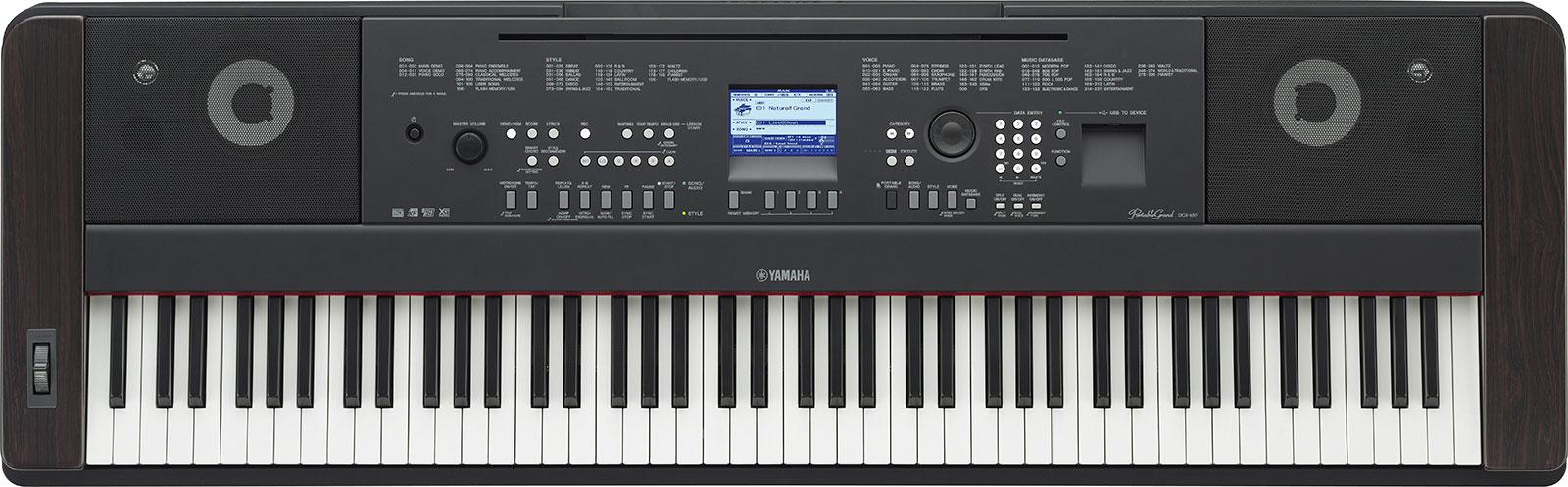 Yamaha Dgx White
