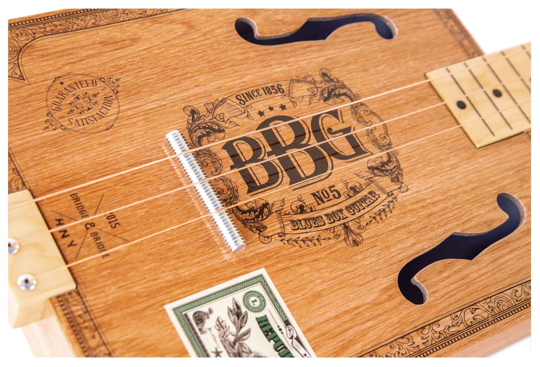 Hinkler Bbg Electric Blues Cigar Box Slide Guitar Kit