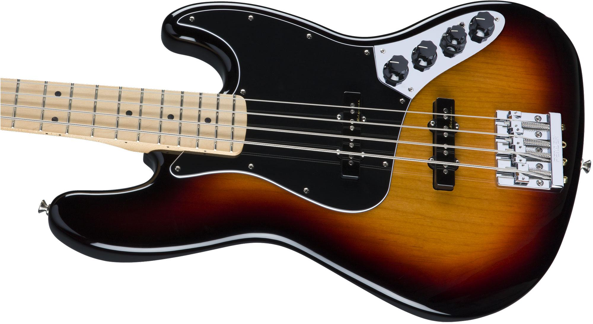 fender deluxe active jazz bass mn 3csb. Black Bedroom Furniture Sets. Home Design Ideas