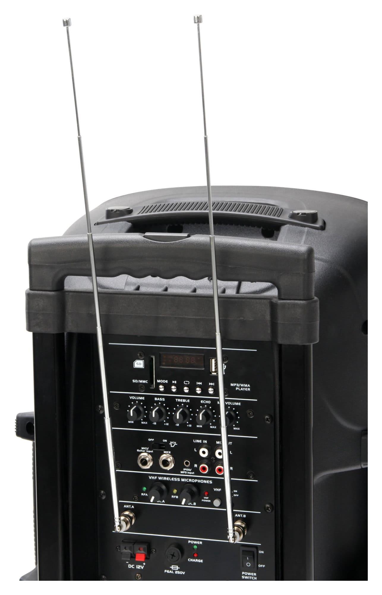 Pronomic Ph12aw Battery Powered Transportable Speaker