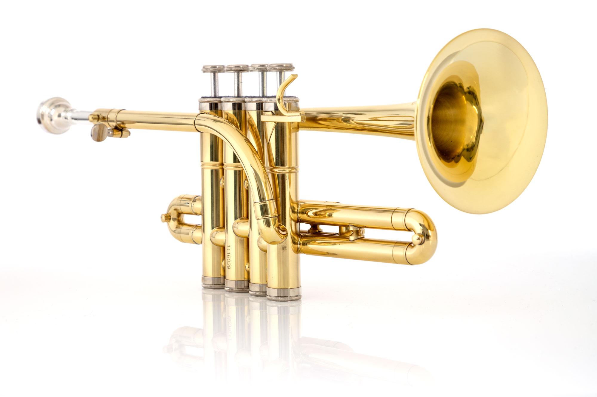 Classic Cantabile PT-196 Bb Piccolo Trumpet Set incl ...