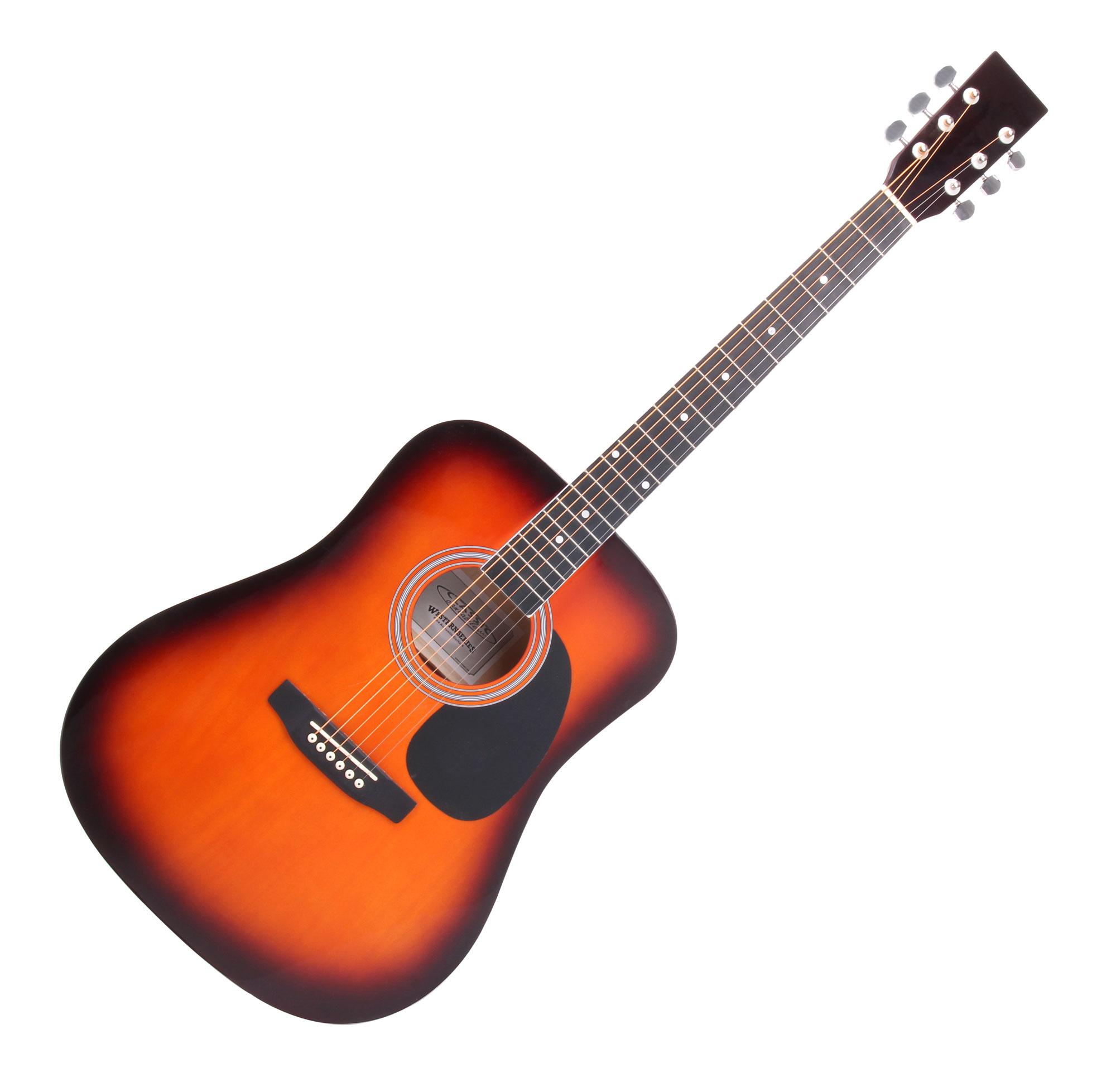 dreadnought westerngitarre stahlsaiten akustik gitarre einsteigergitarre guitar ebay. Black Bedroom Furniture Sets. Home Design Ideas