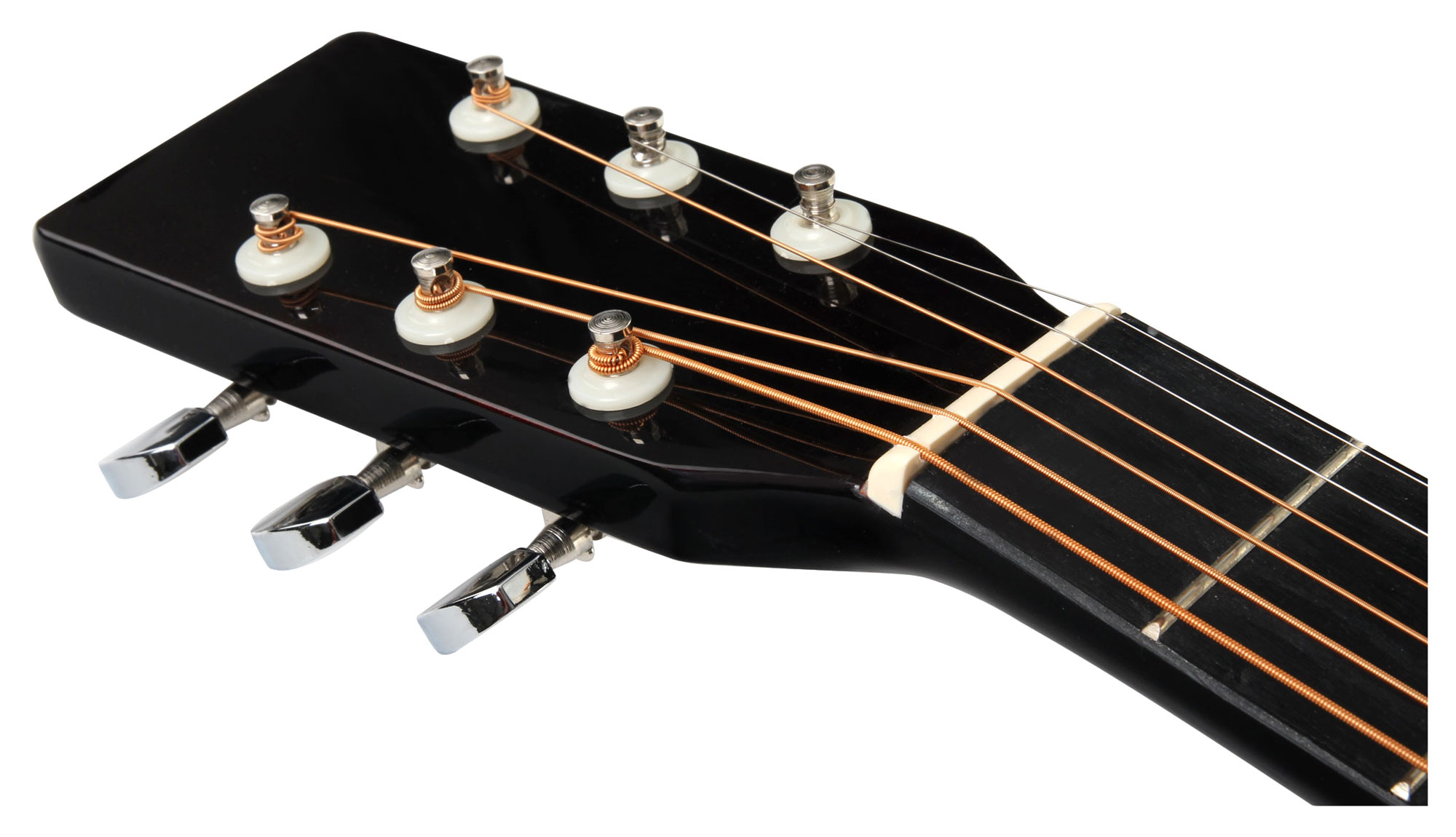 how to set action on acoustic guitar