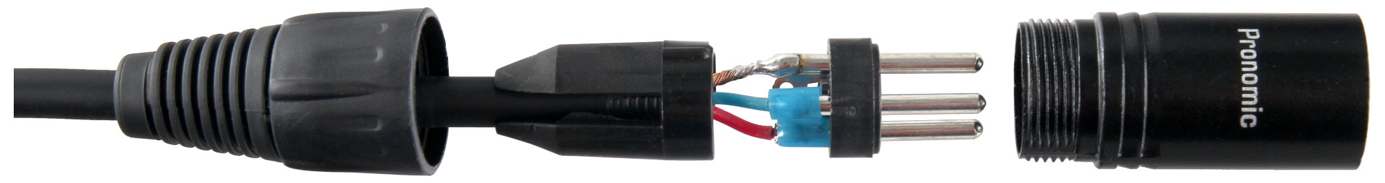 Microphone Cords Accessories : Pronomic stage xfxm microphone cable xlr m black