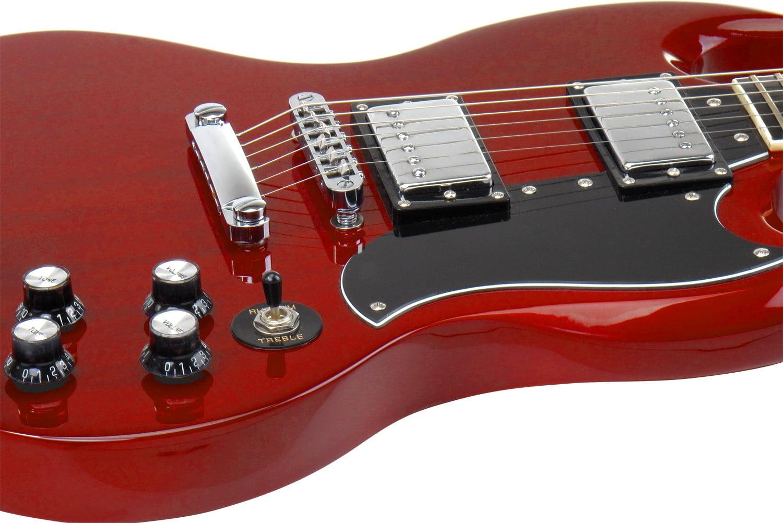 rocktile pro s r electric guitar heritage cherry. Black Bedroom Furniture Sets. Home Design Ideas