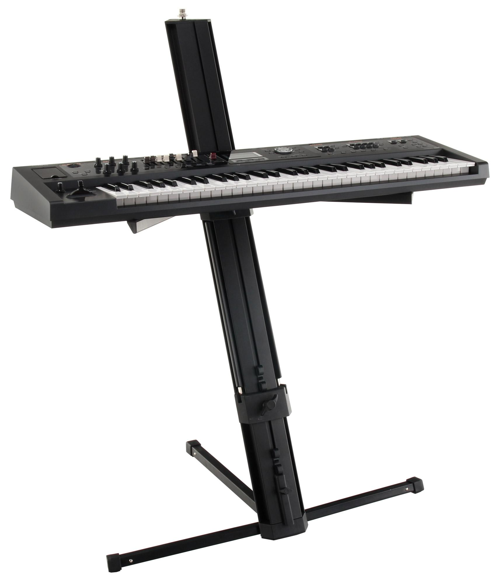 Classic Cantabile Ks 100 Double Keyboard Stand Black