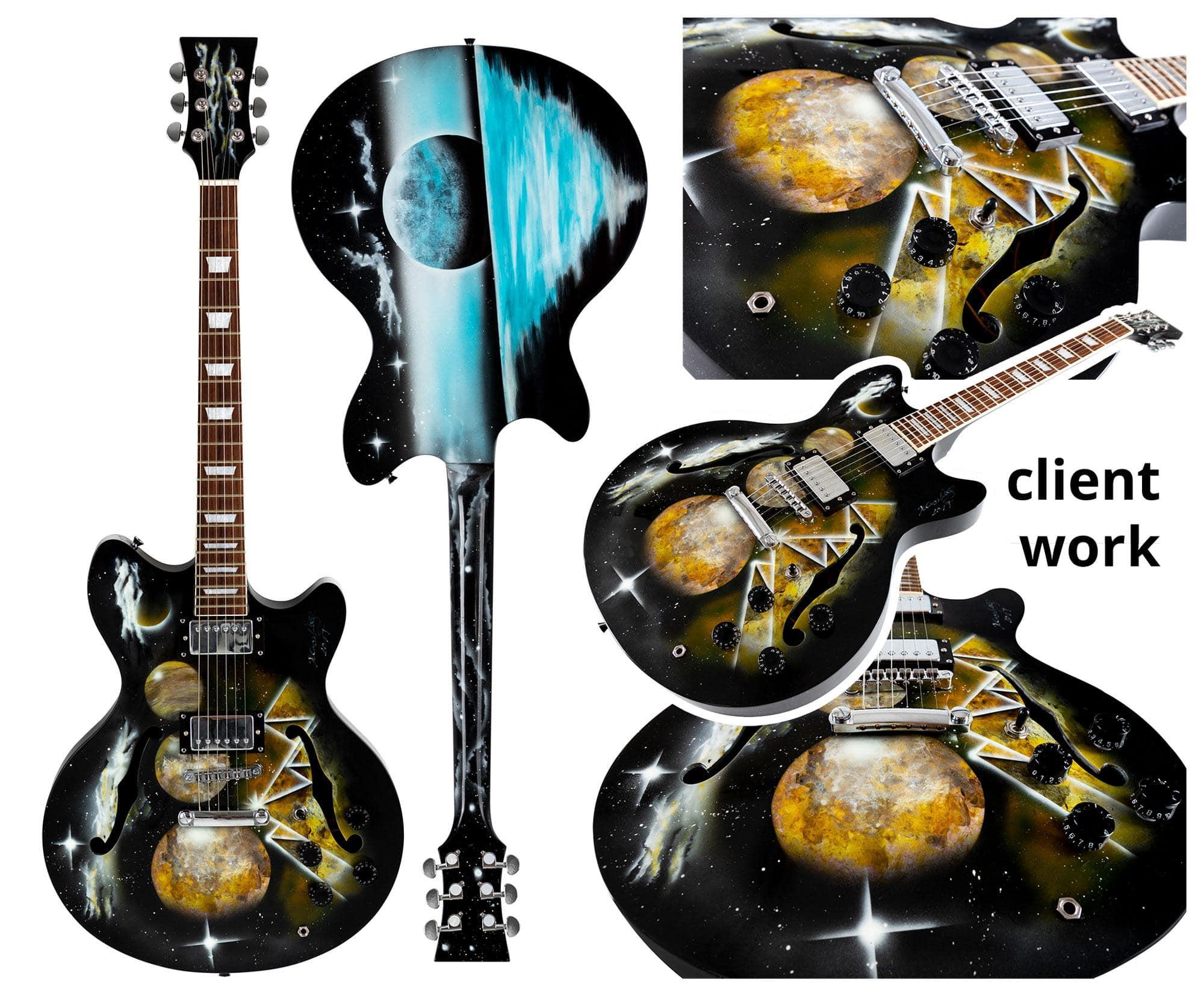 rocktile electric guitar hb style building kit. Black Bedroom Furniture Sets. Home Design Ideas