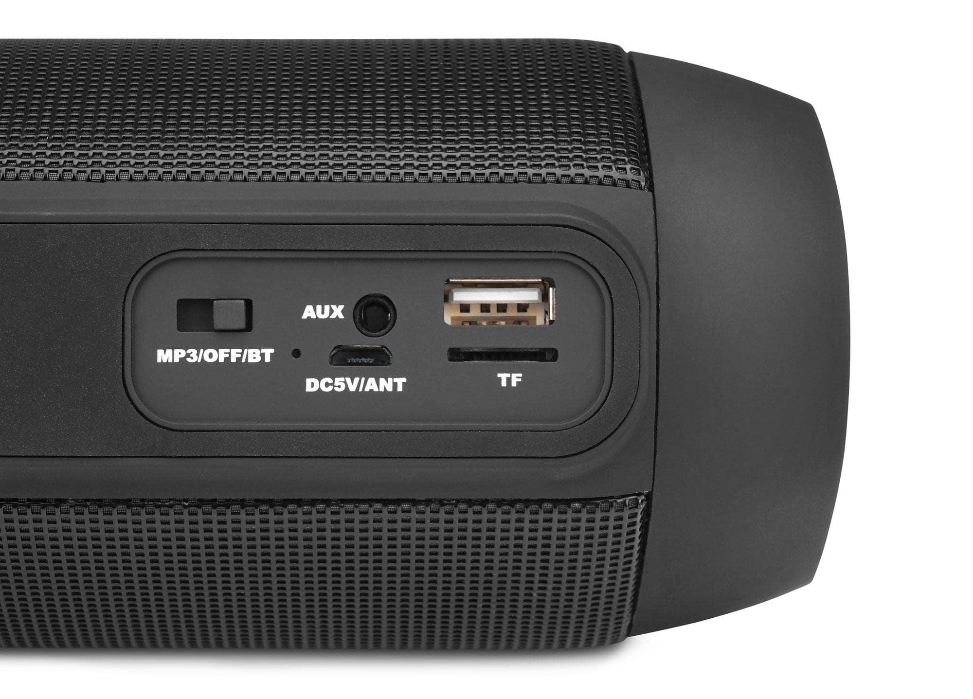 portabler bluetooth lautsprecher musik bass box stereo anlage usb sd mp3 player eur 24 90. Black Bedroom Furniture Sets. Home Design Ideas