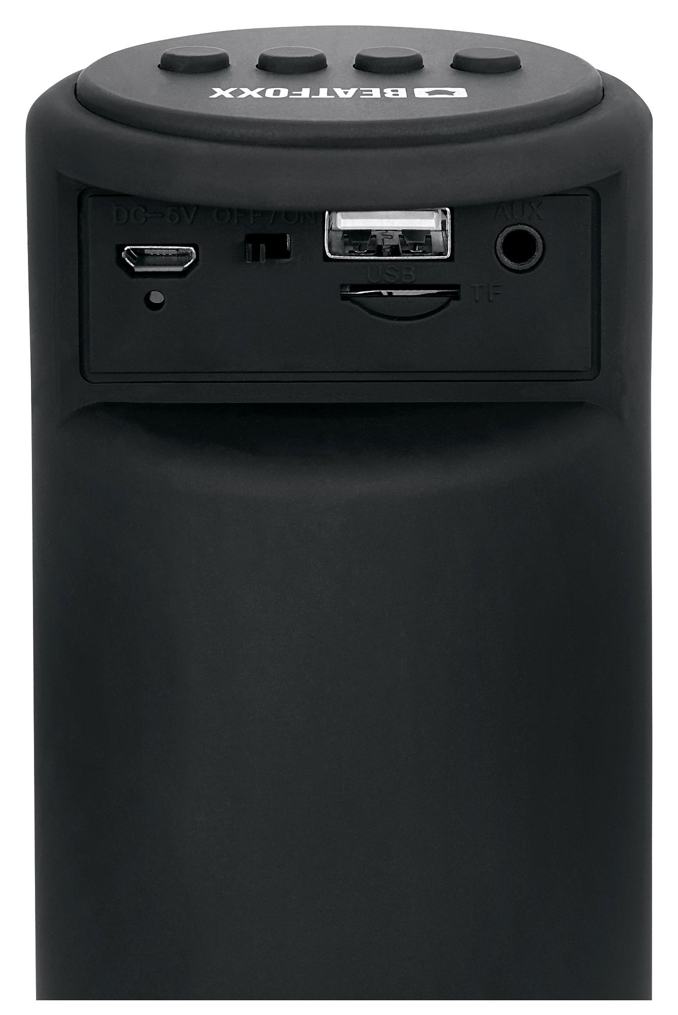 beatfoxx ledbeat pro portabler led bluetooth lautsprecher. Black Bedroom Furniture Sets. Home Design Ideas