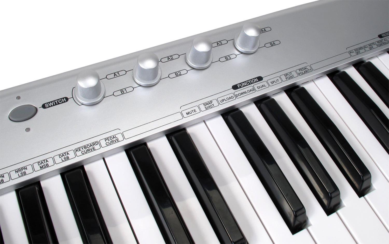 49-TASTEN-MIDI-KEYBOARD-MASTER-KEYBOARD-LAPTOP-RECORDING-CONTROLLER-USB-PEDAL-SL