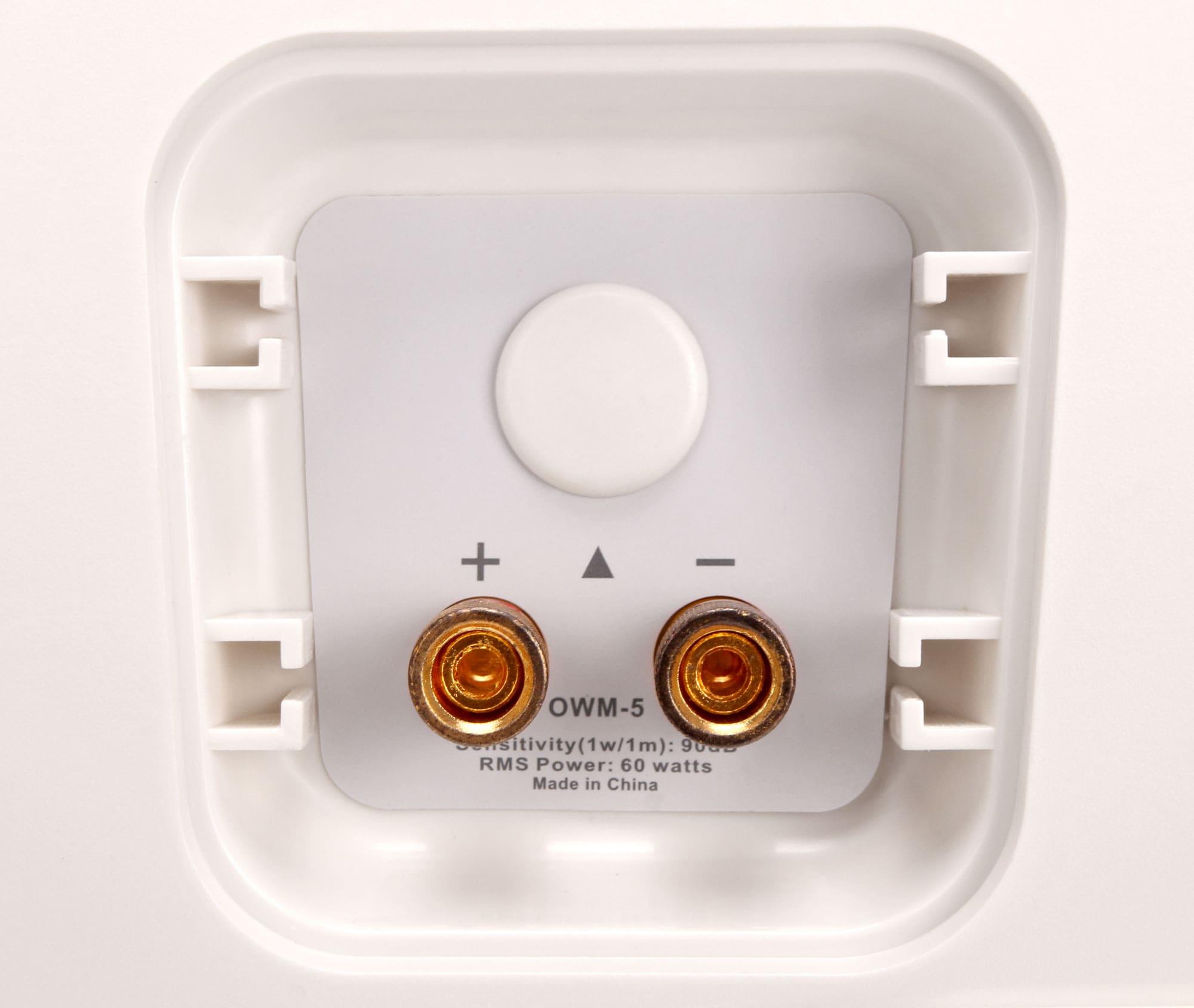 pronomic ols 5 wh outdoor lautsprecher wei 120 watt. Black Bedroom Furniture Sets. Home Design Ideas