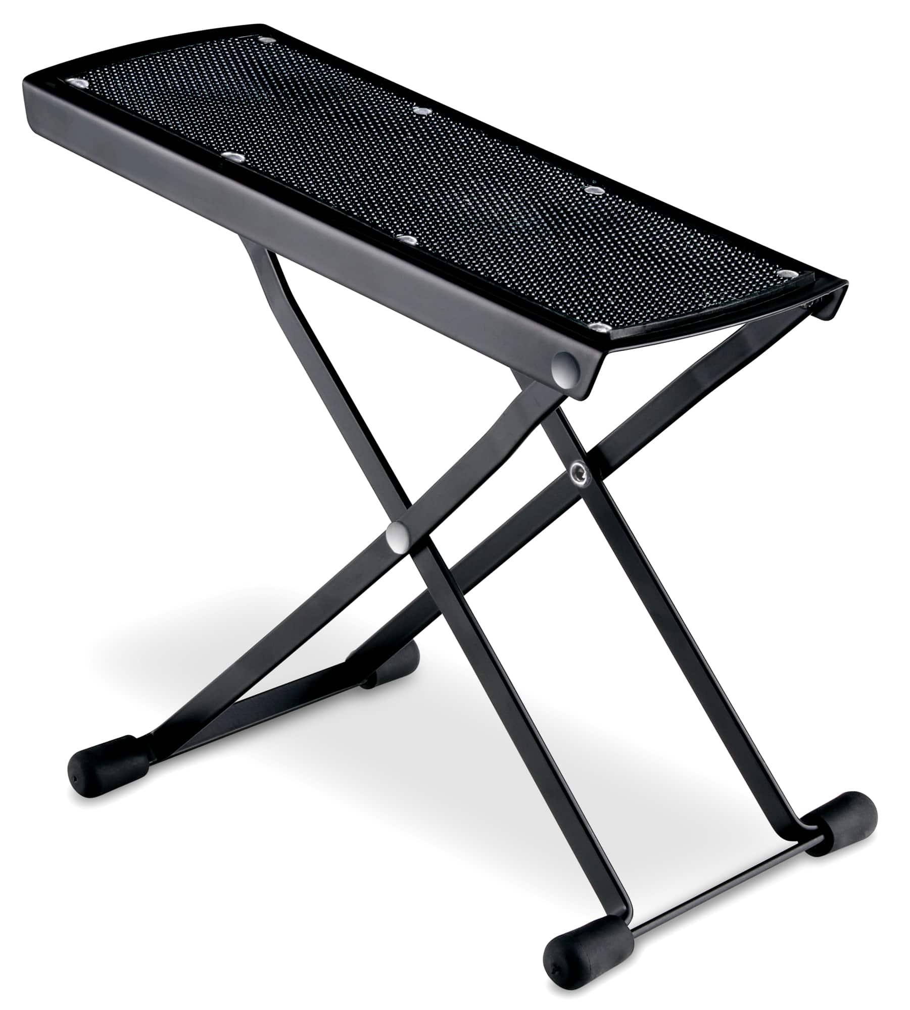 ensemble de 3 rocktile repose pieds pour guitare noir. Black Bedroom Furniture Sets. Home Design Ideas